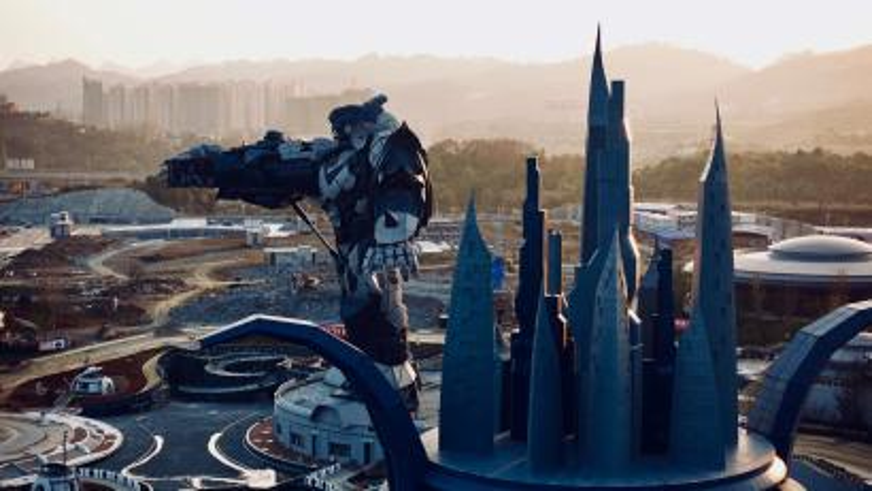 Sci fi theme park, China.