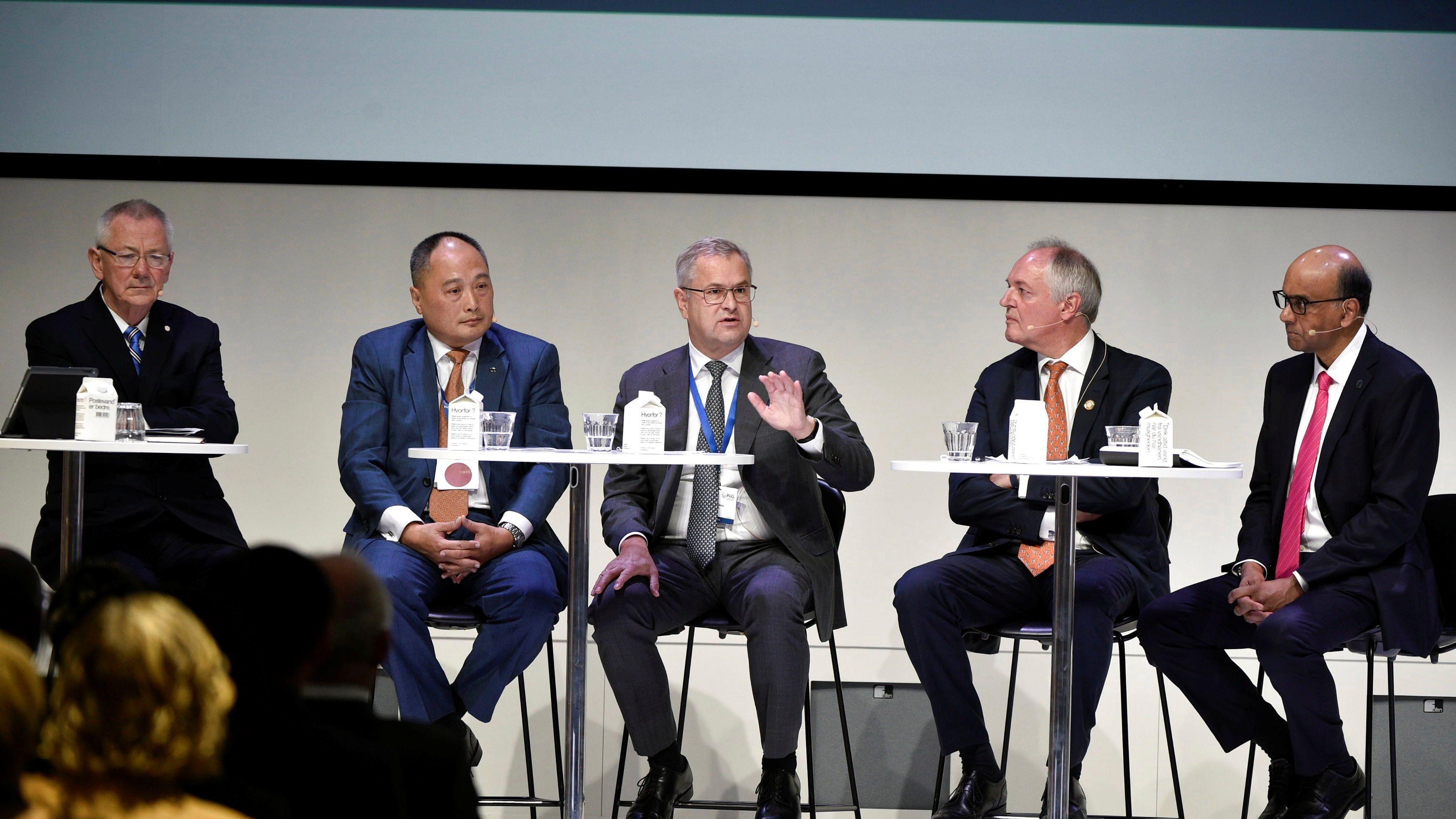 CEOs in Denmark.