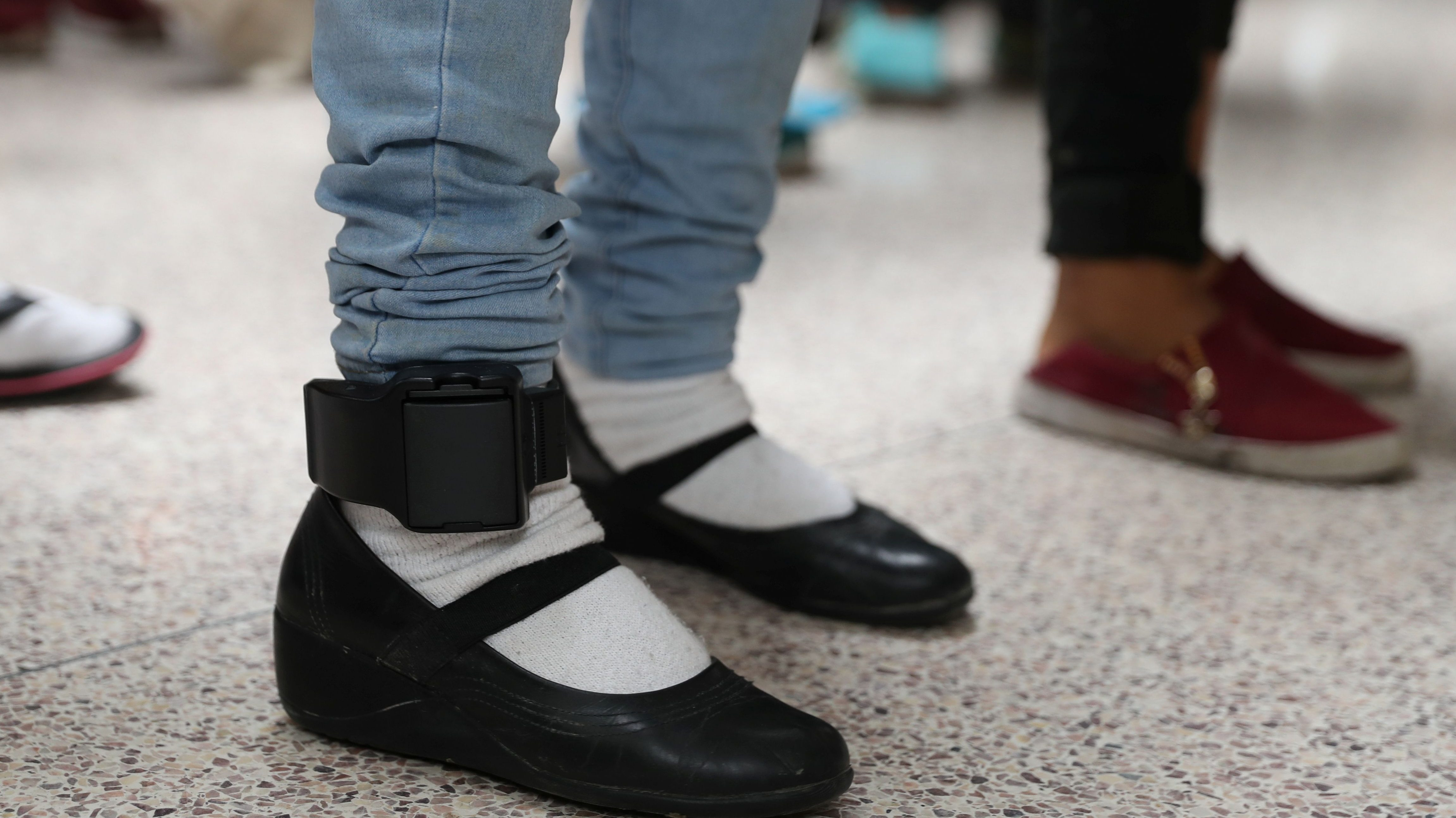 Pas Are Putting Gps Ankle Monitors