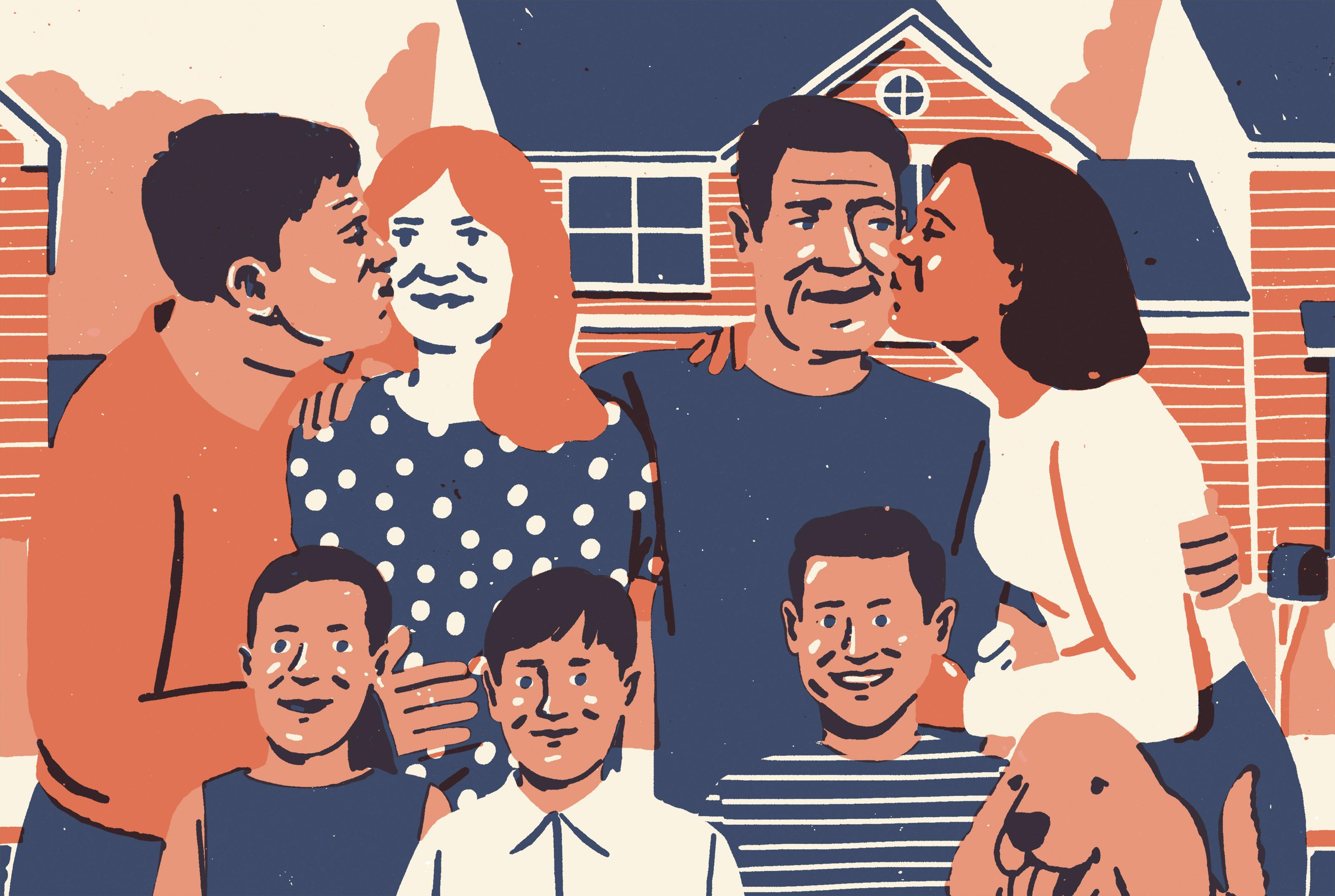 polyamorous family in 2018