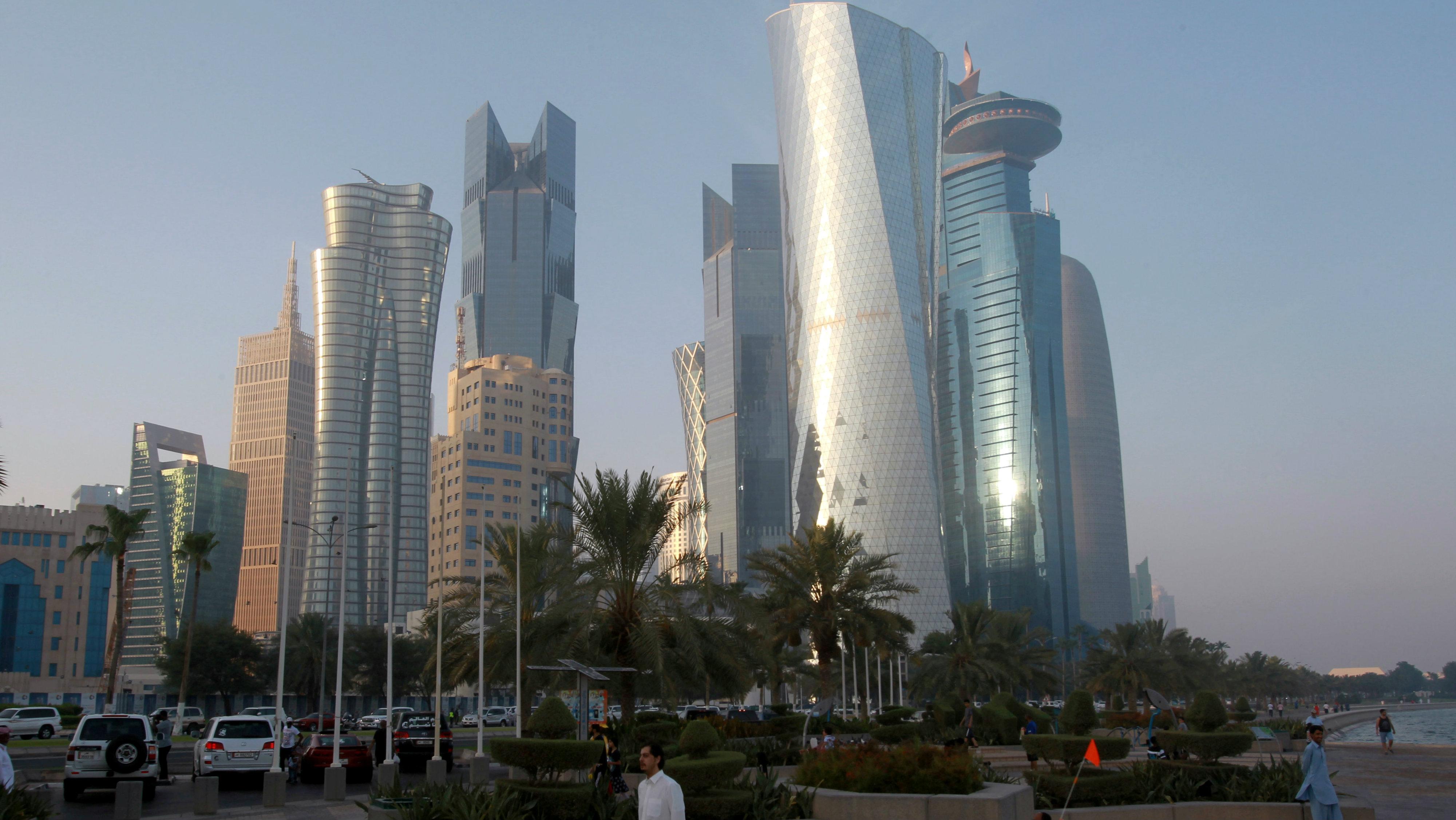 View of Doha, Qatar