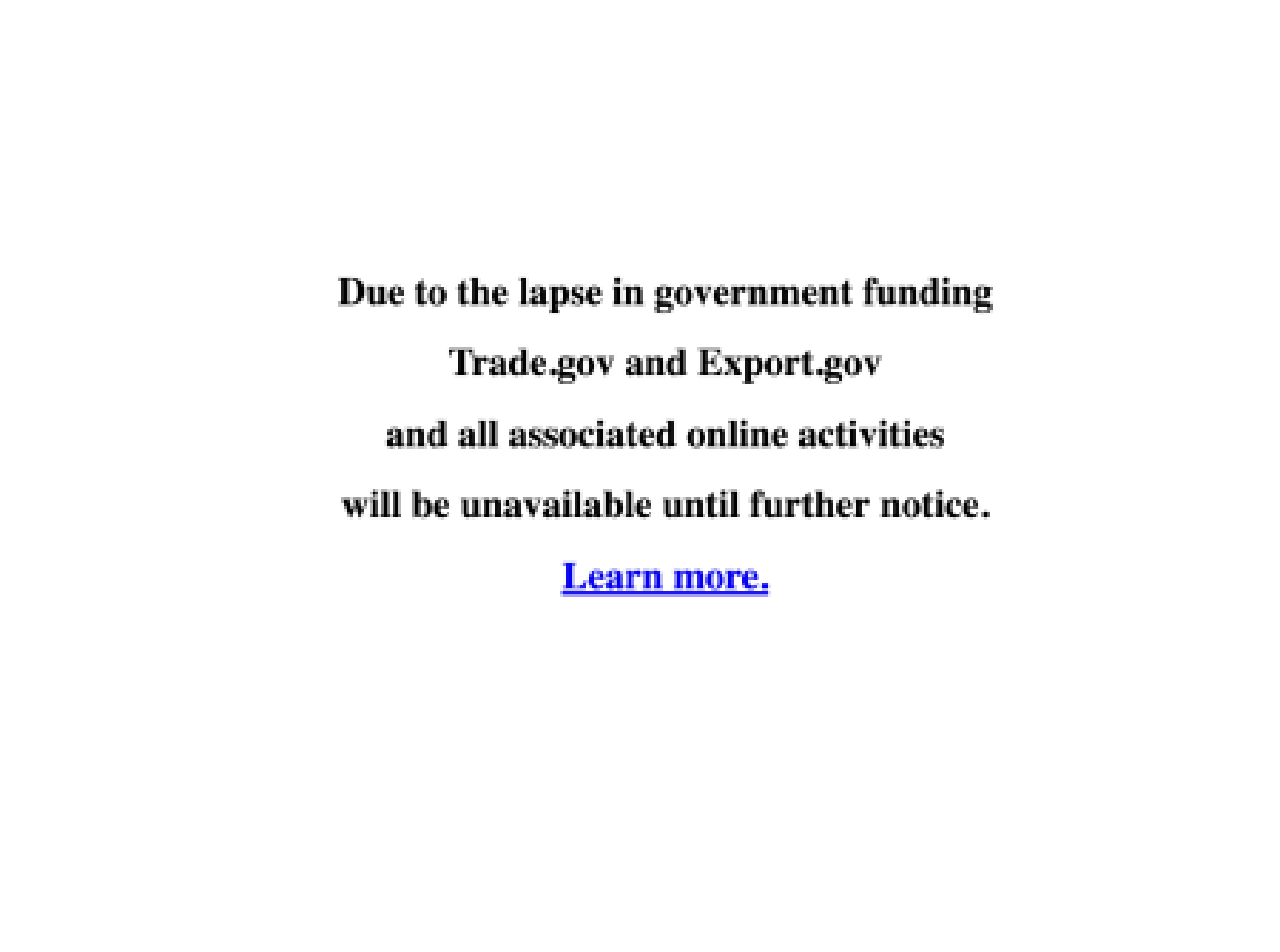 Government websites' 2018 shutdown warnings, ranked — Quartz