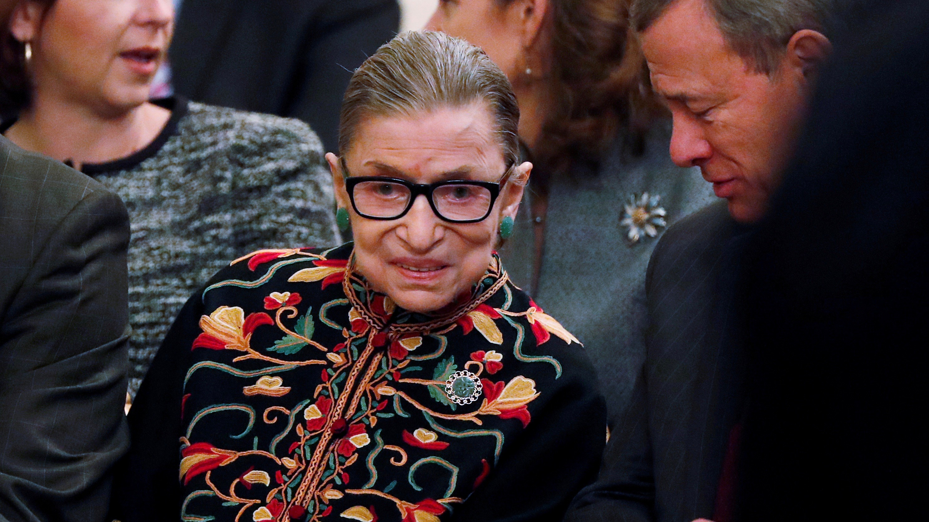 It's probably best not to underestimate the strength of Ruth Bader Ginsburg.