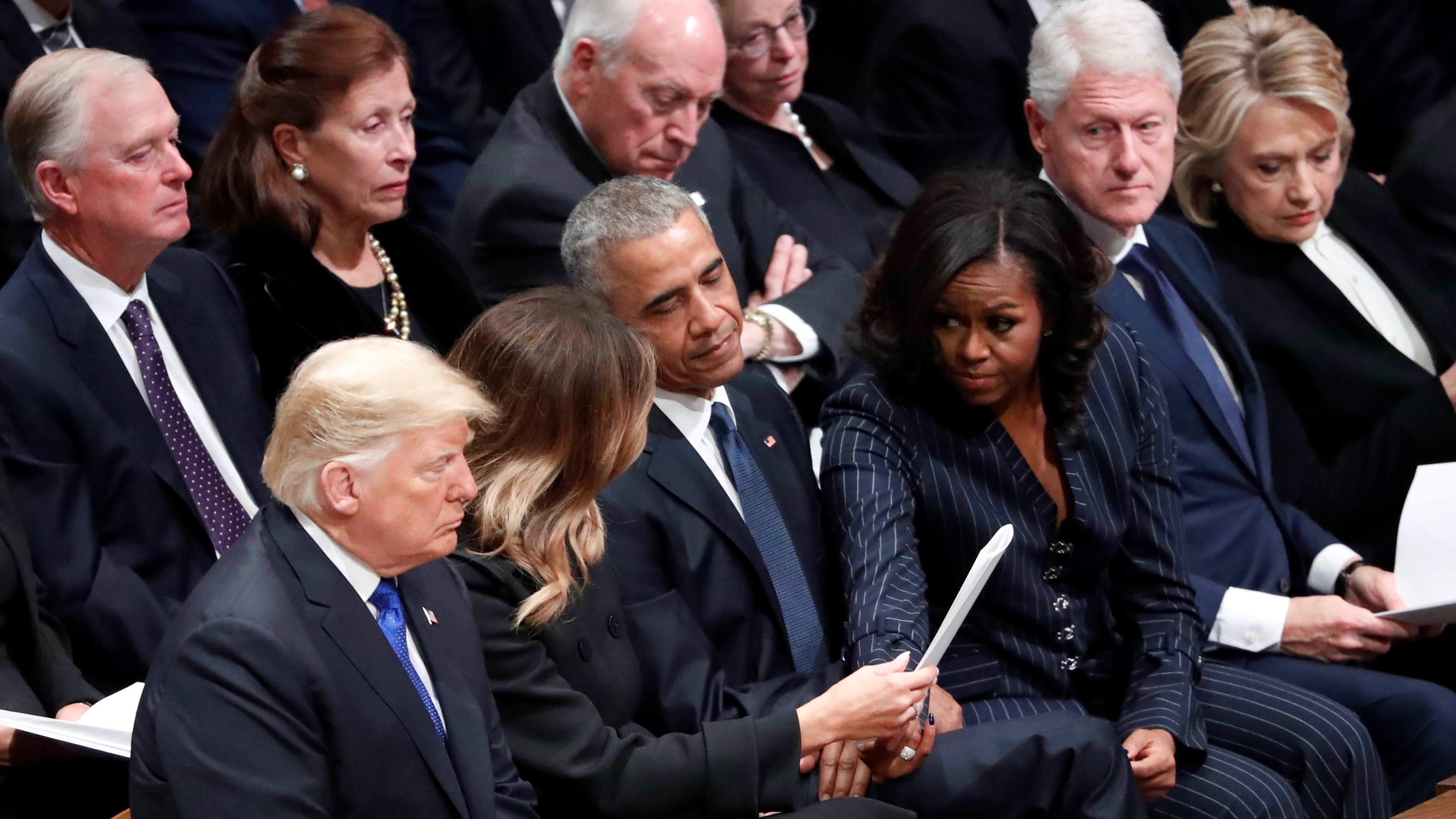 Michelle Obama demonstrating principles in action.