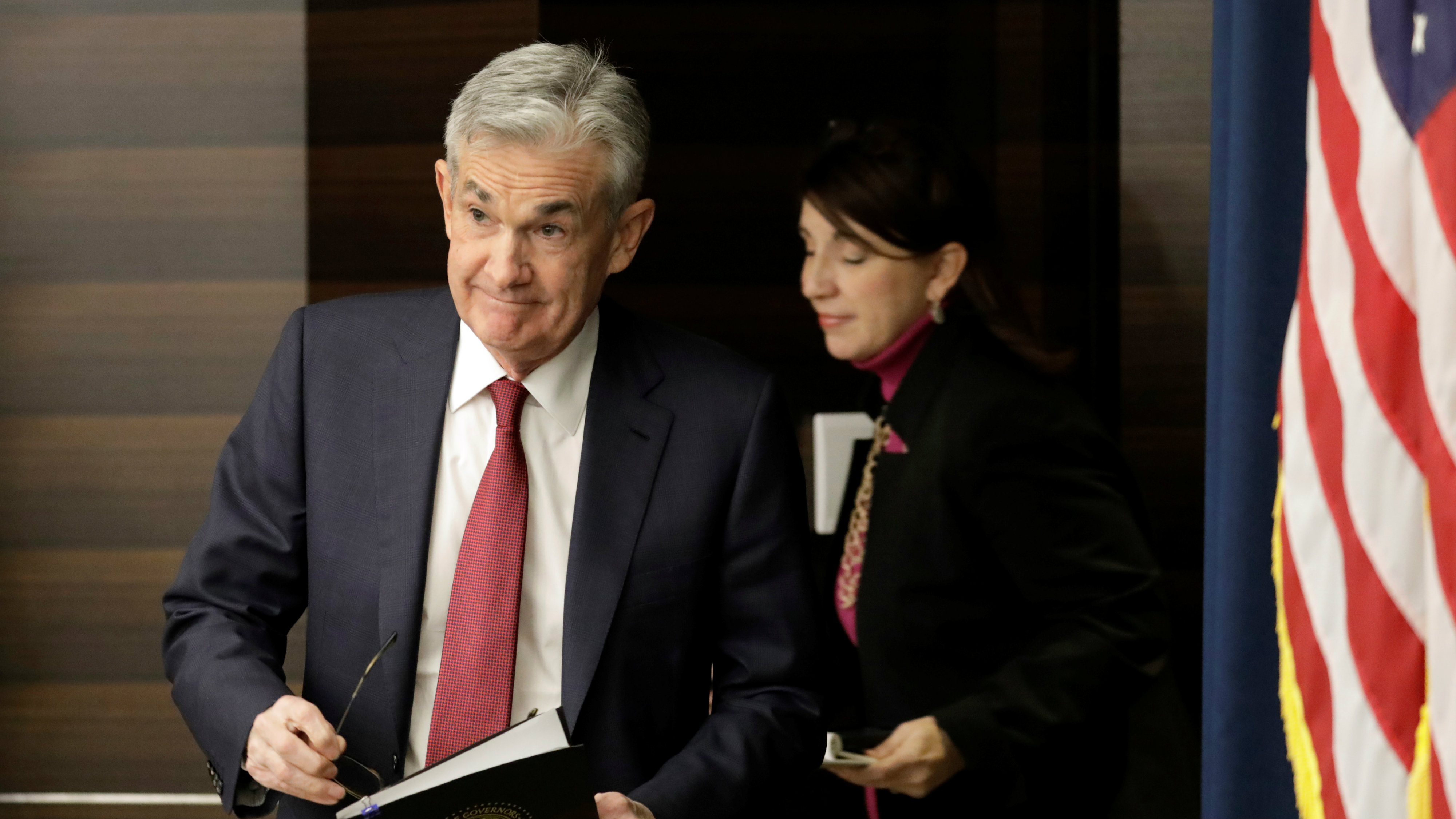 Jerome Powell, chairman of the US Federal Reserve