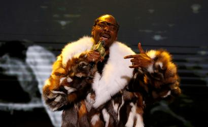 Rapper Snoop Dogg performs at the 6th annual REVOLT Global Spin Awards in Los Angeles, California, U.S.
