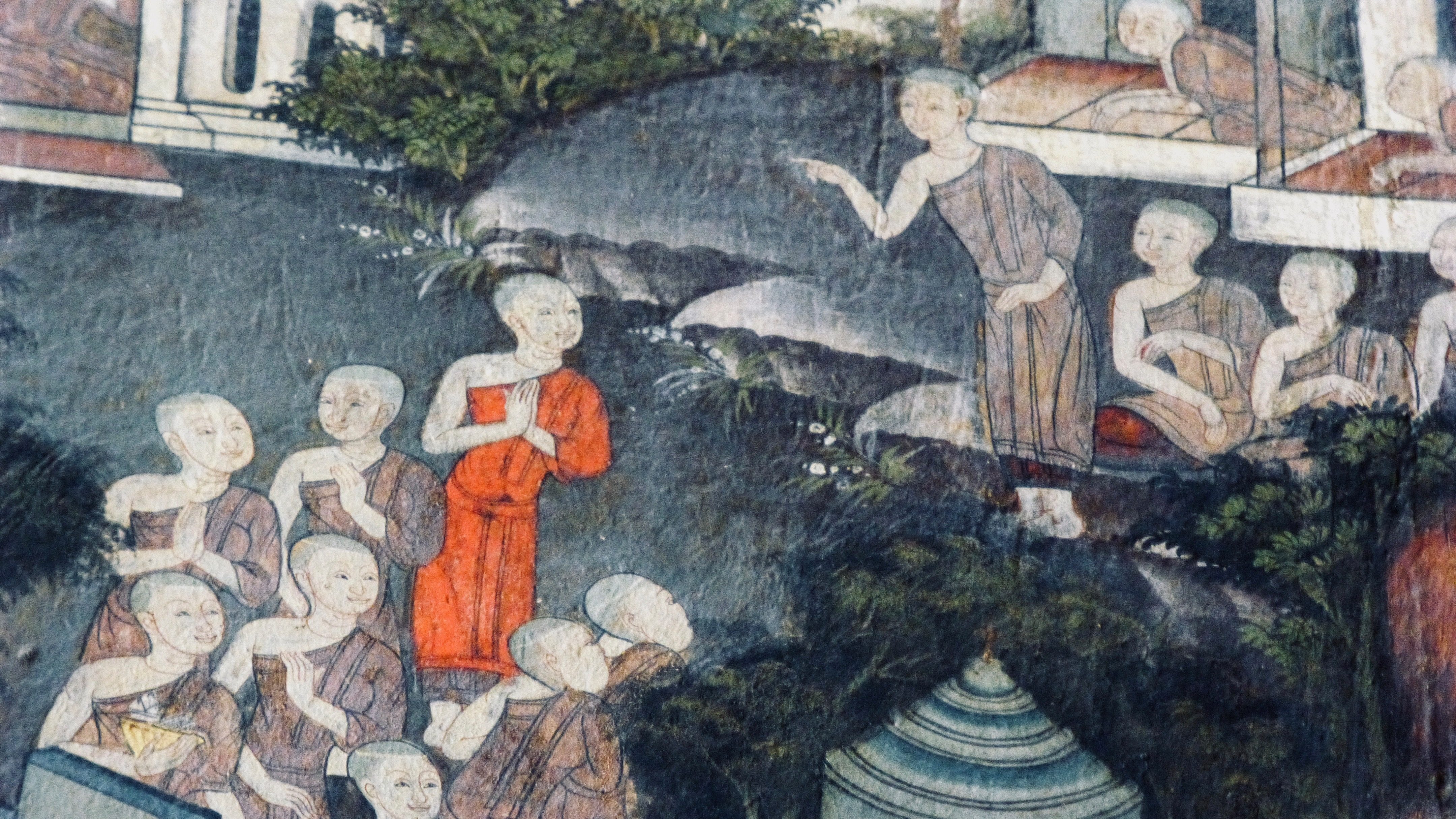The Buddha's aunt led the first women's rights march in recorded history