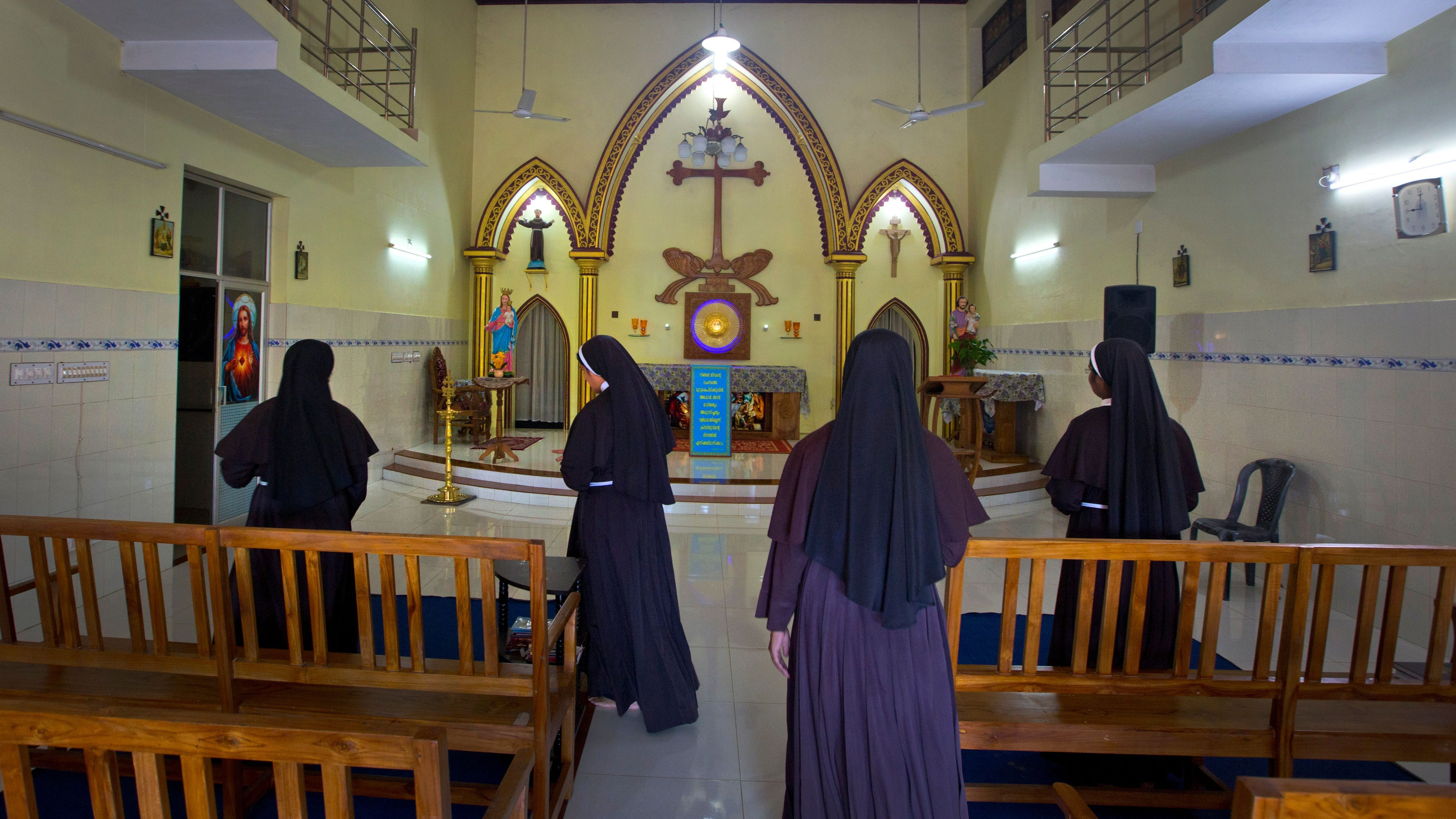 India Priests Preying on Nuns