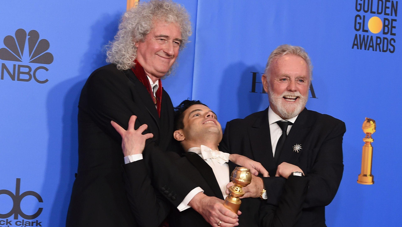 Brian May, Rami Malek, Roger Taylor