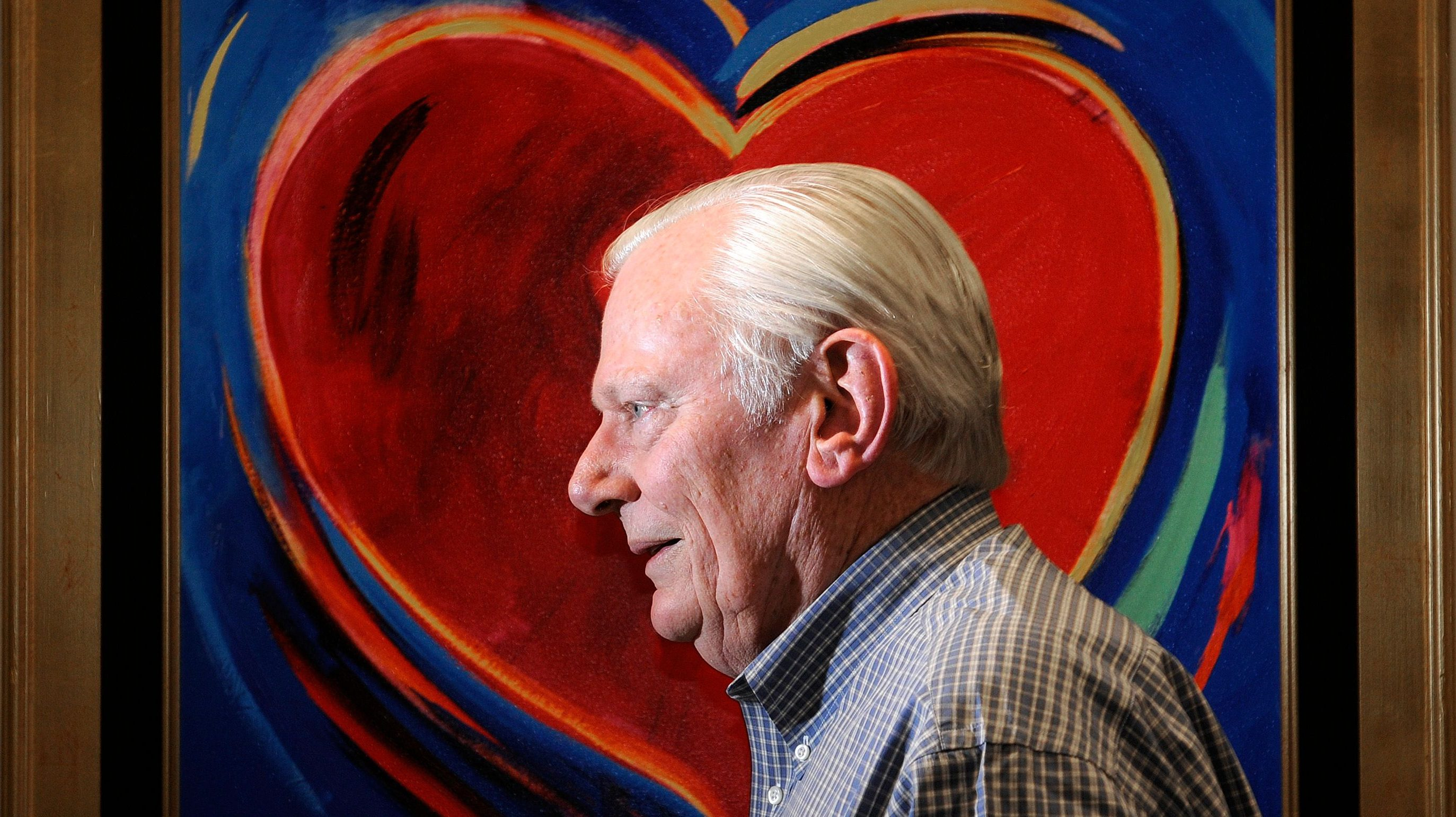 Southwest Airlines founder Herb Kelleher in 2011