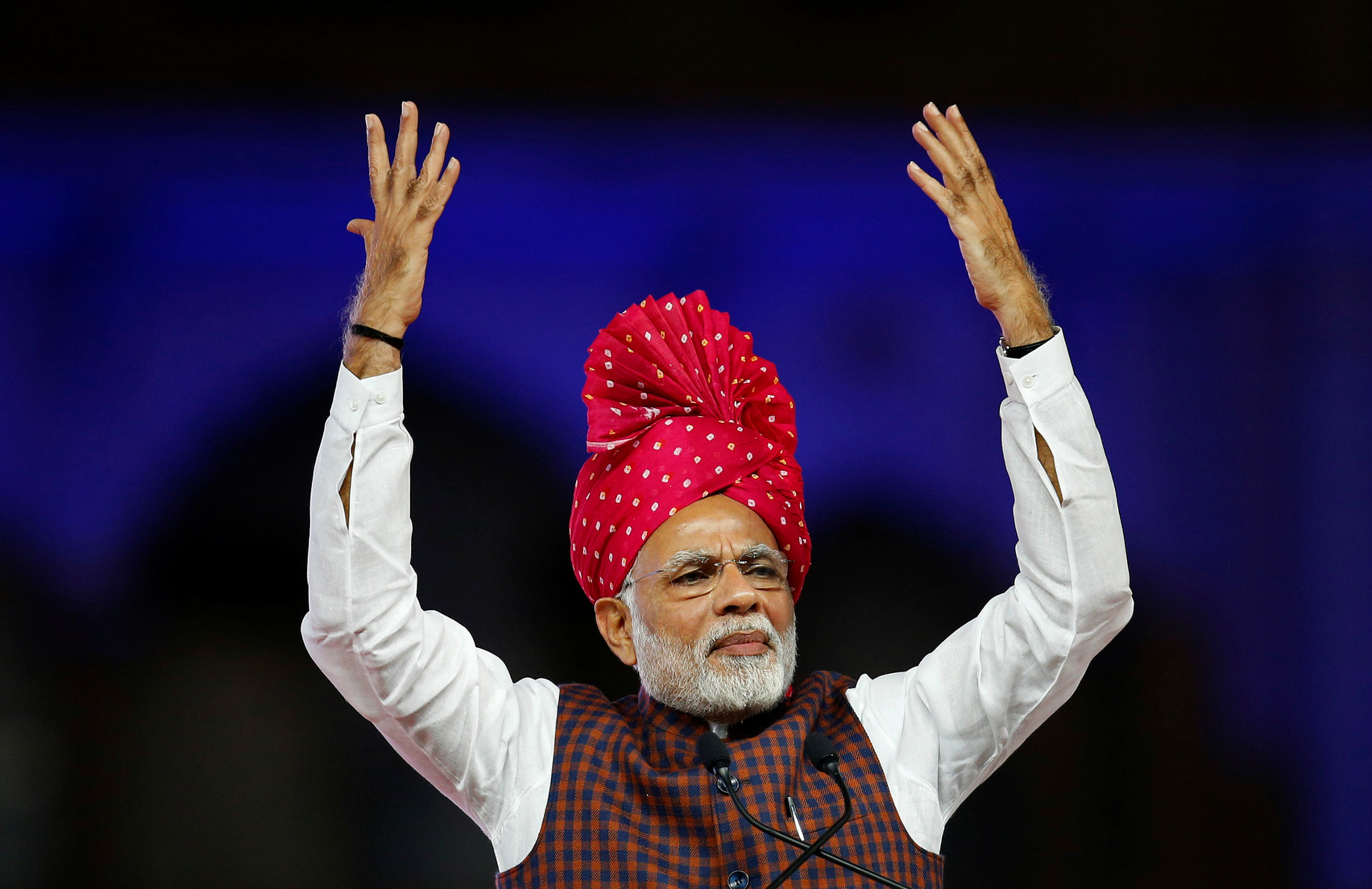 Modi's economic report card before India's 2019 elections
