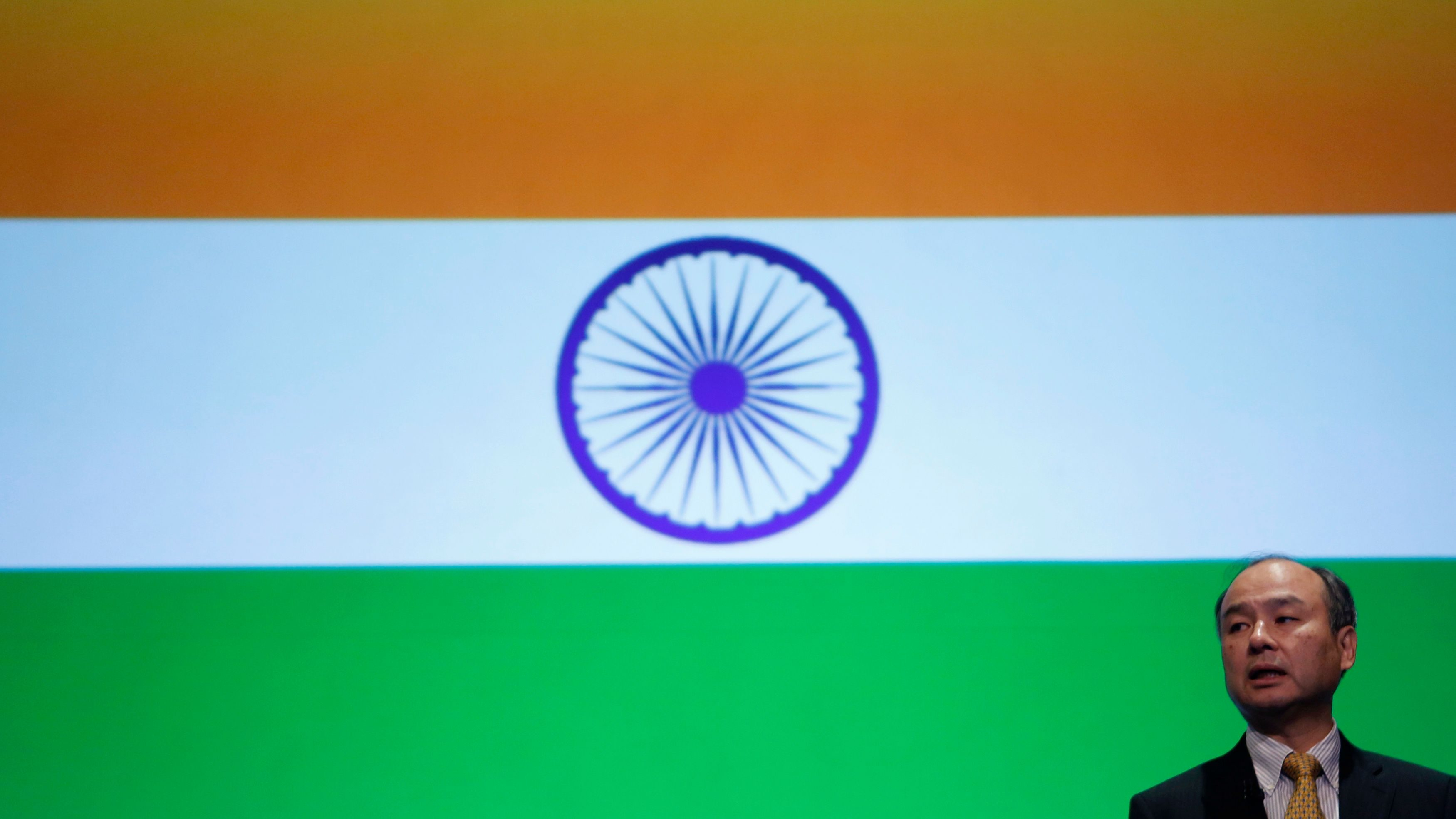 SoftBank is reaching for the sun in India