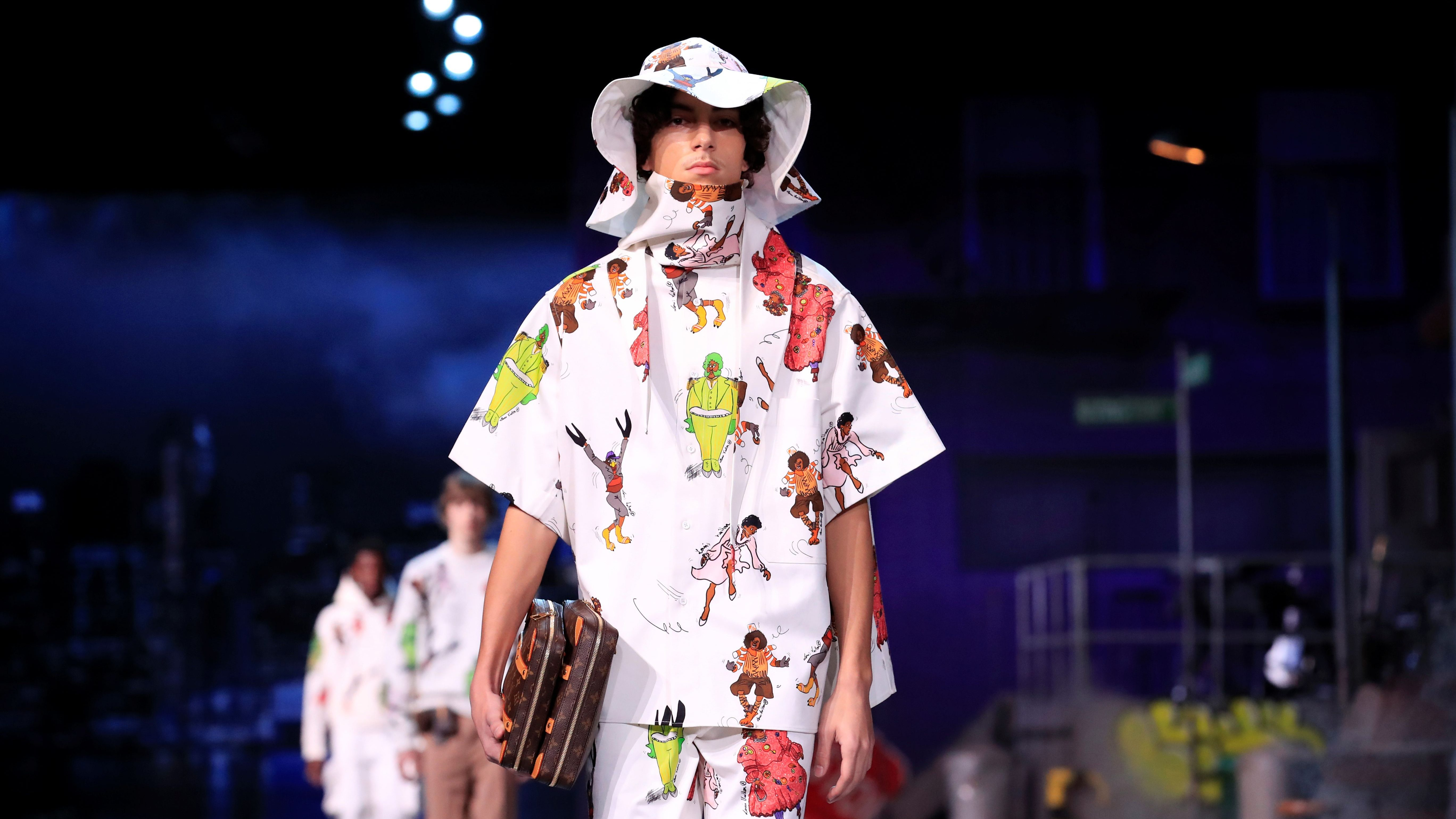 Louis Vuitton Rick Owens And Their Inspirations At Paris Men S