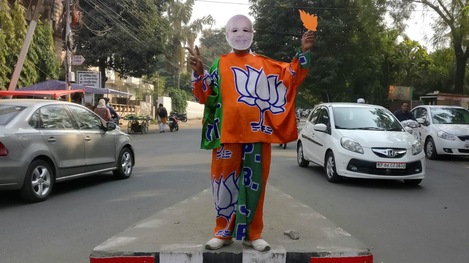 Modi's NaMo app spreads pro-BJP fake news before Indian