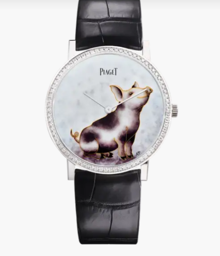 Piaget's edition for year of the pig.