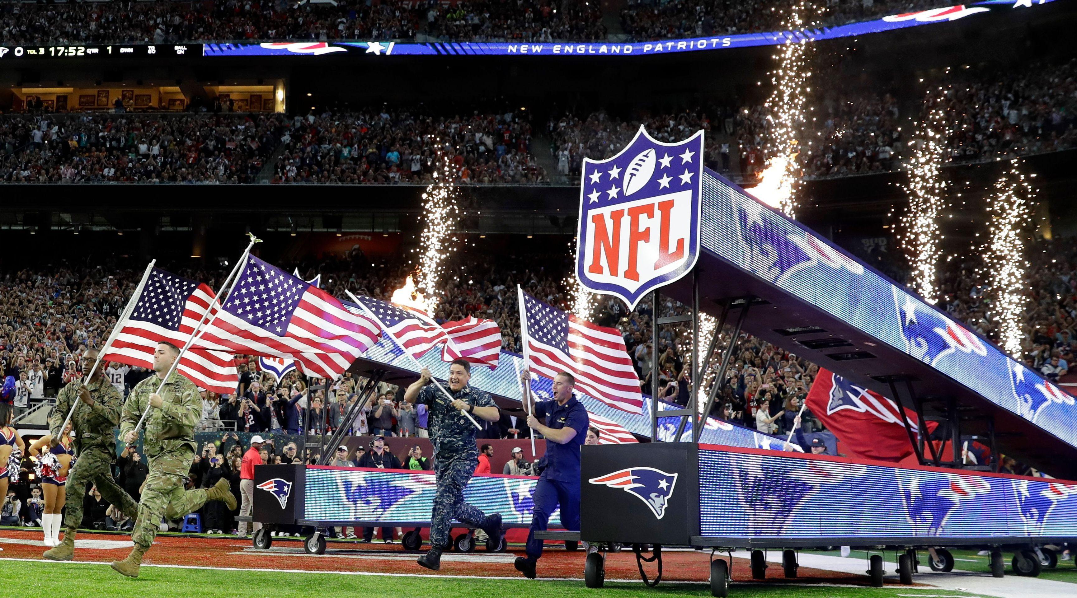 NFL Super Bowl Patriots Rams