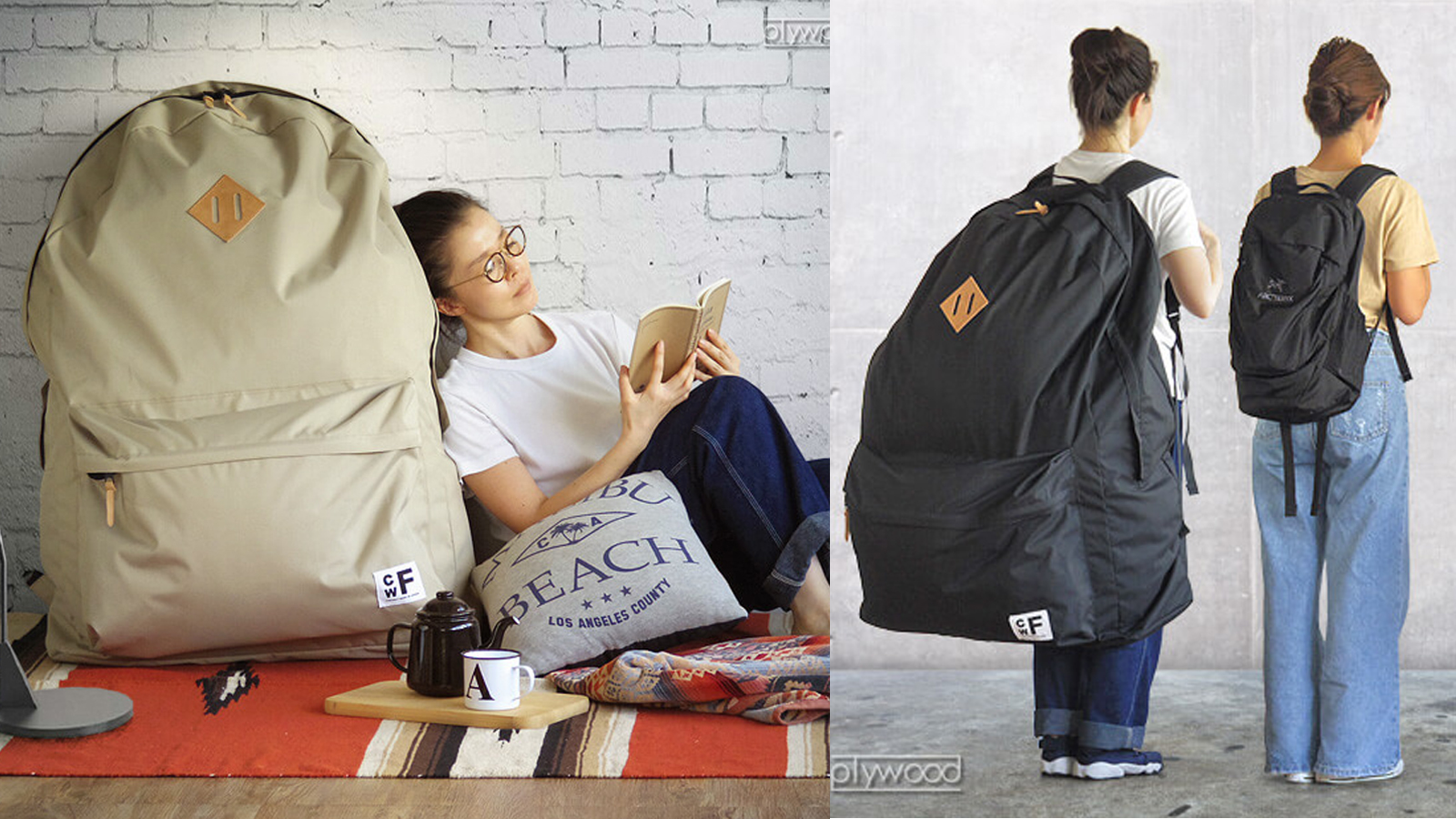 Are Cwf S Absurdly Large Japanese Backpacks A Real Fashion Trend
