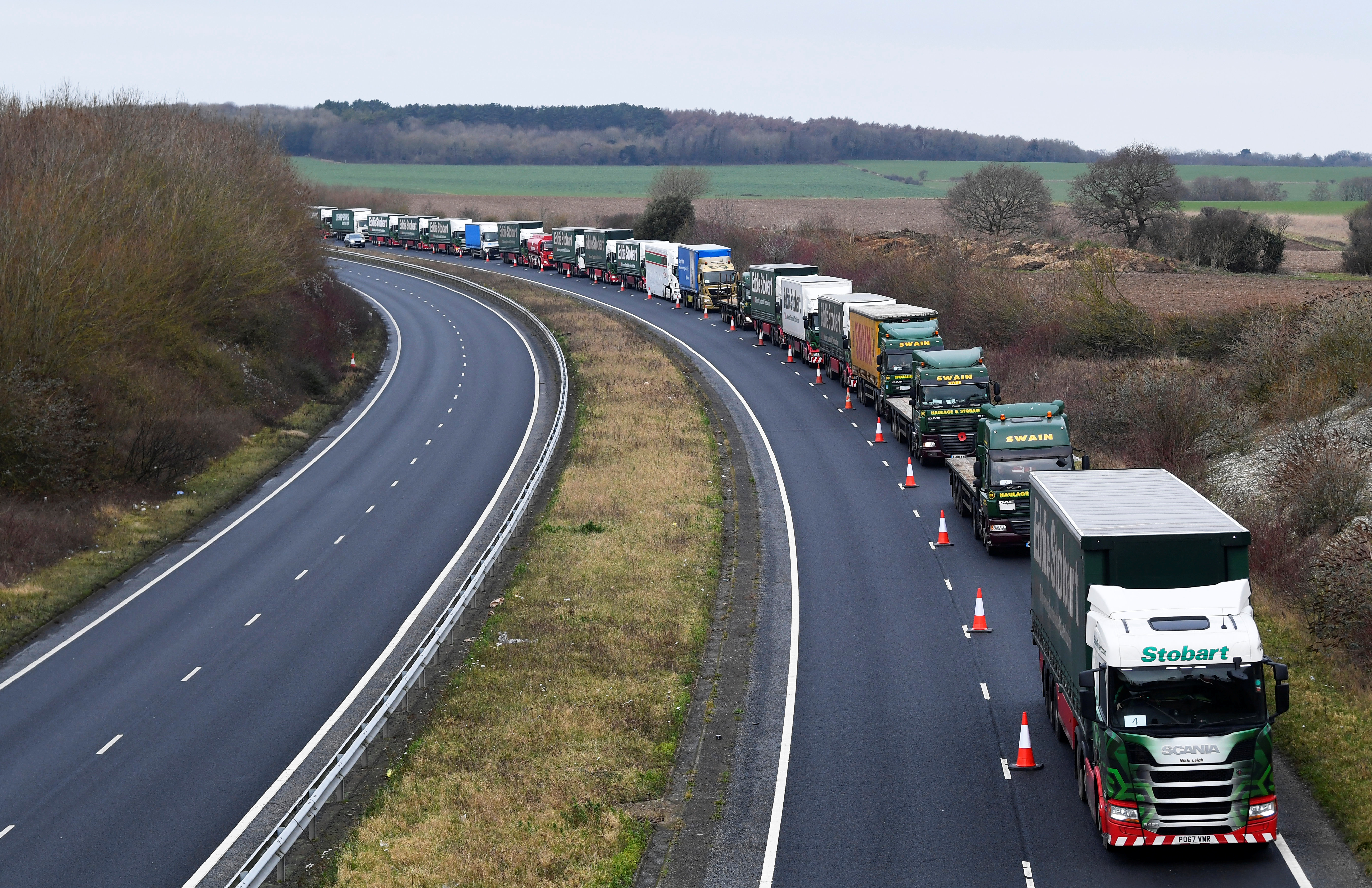 Slikovni rezultat za traffic jam for brexit
