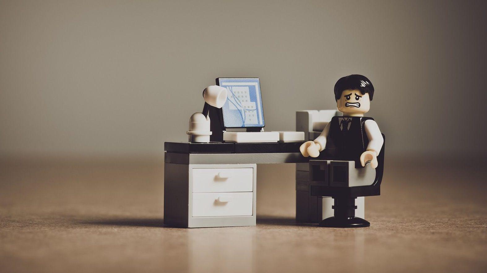 Lego businessman