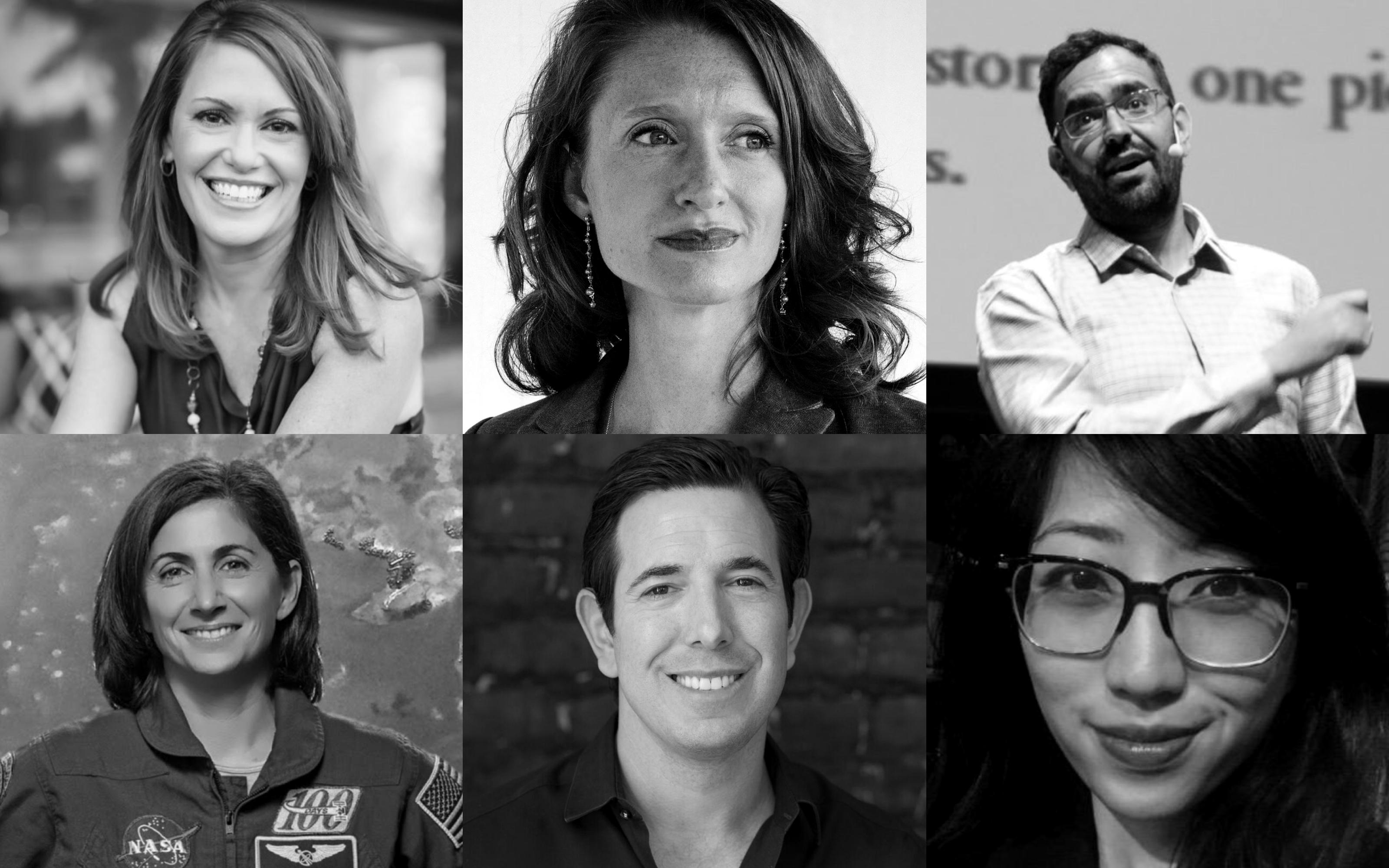 Quartz Pros: Peggy Johnson, Nicole Stott, Natasha Lamb, Azeem Azhar, Suzy Ryoo, Bradley Tusk