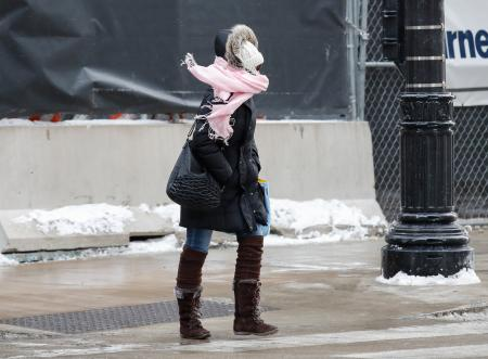 Polar vortex 2019: Pictures of the cold weather gripping the
