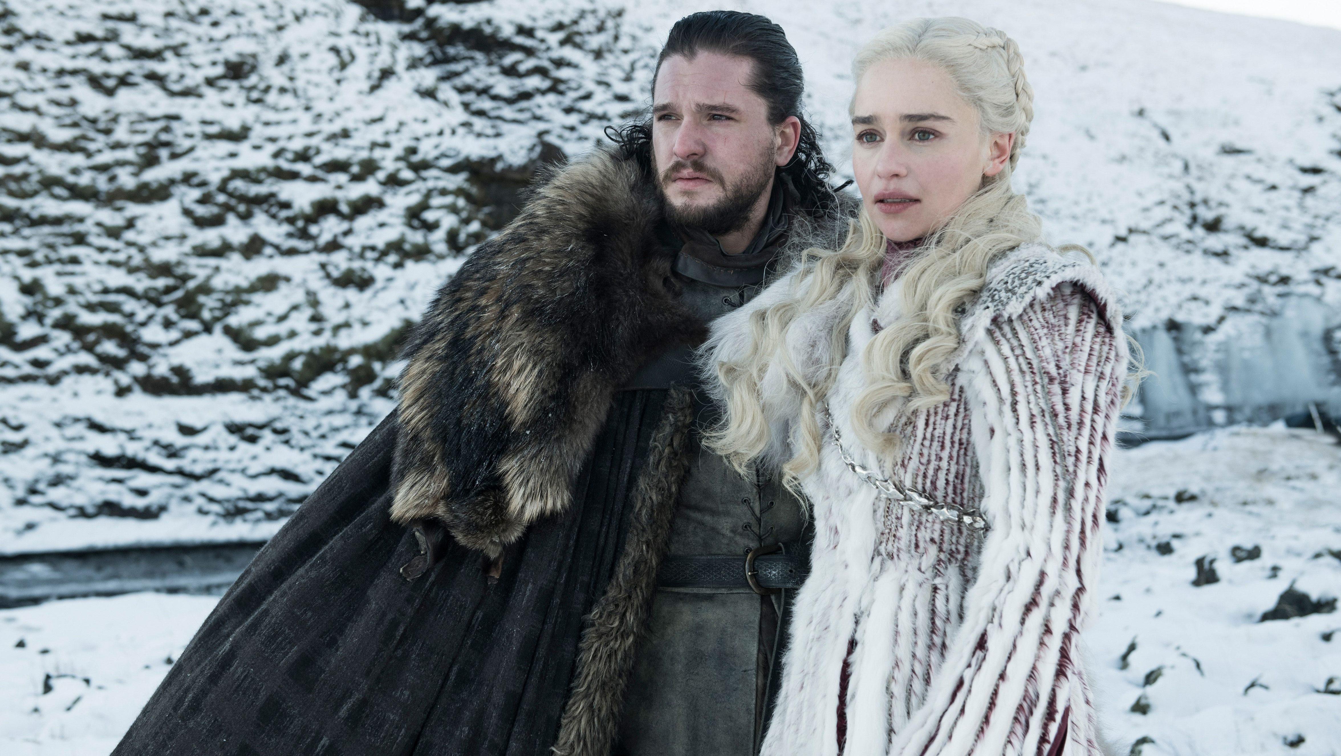 hbo daenerys jon snow game of thrones