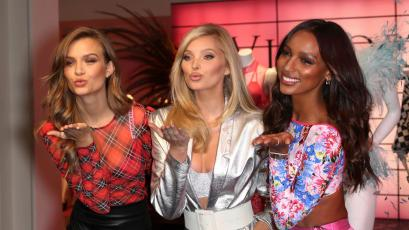 Photo by: John Nacion/STAR MAX/IPx 2018 11/29/18 Josephine Skriver, Elsa Hosk and Jasmine Tookes at the Victoria's Secret Shop The Show Event in New York City.