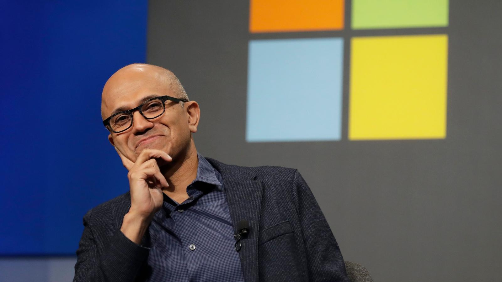 Microsoft CEO Satya Nadella on the company's competitors ...