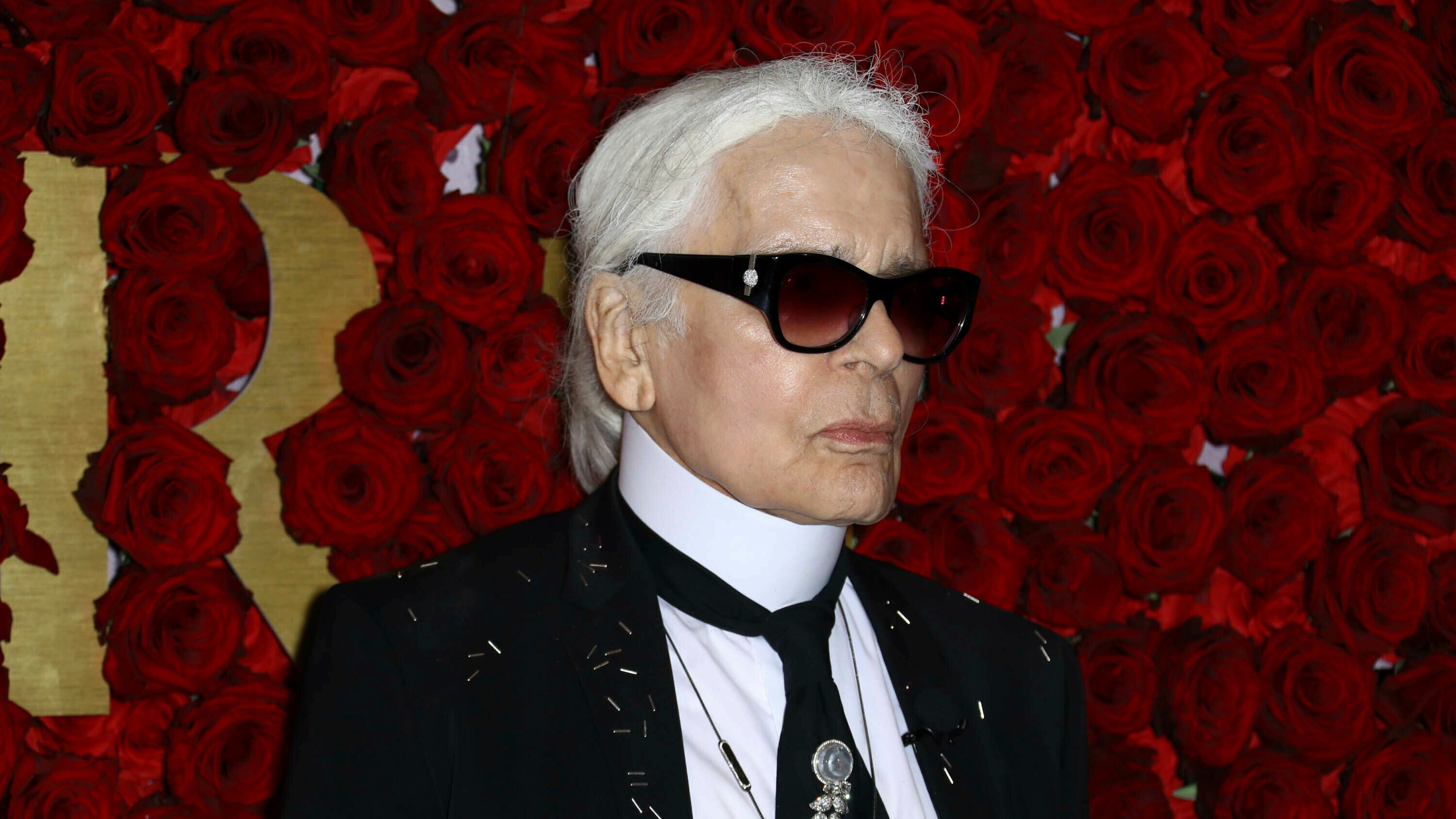 Photo by: John Nacion/STAR MAX/IPx 2019 10/24/17 Karl Lagerfeld at The Second Annual WWD Honors in New York City.