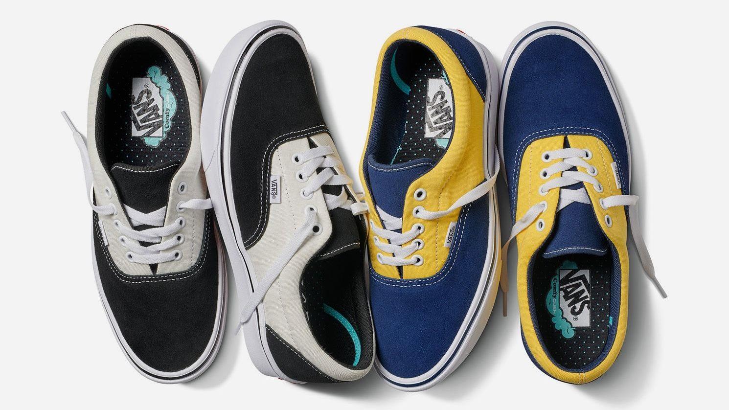 Bra bästa värde ganska billigt Vans's ComfyCush Era sneaks modern cushioning into classic shoes ...