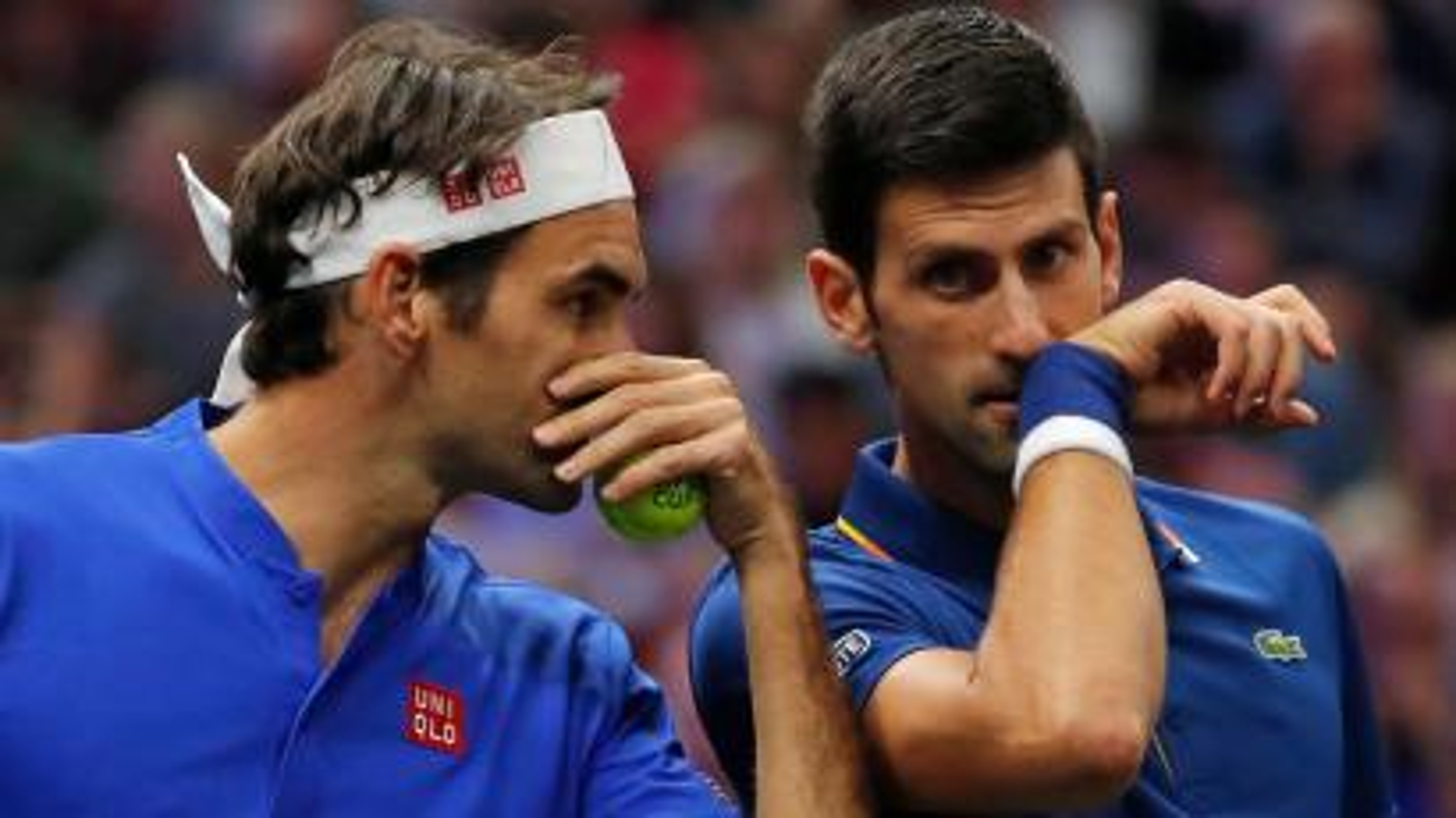 Federer and Djokovic