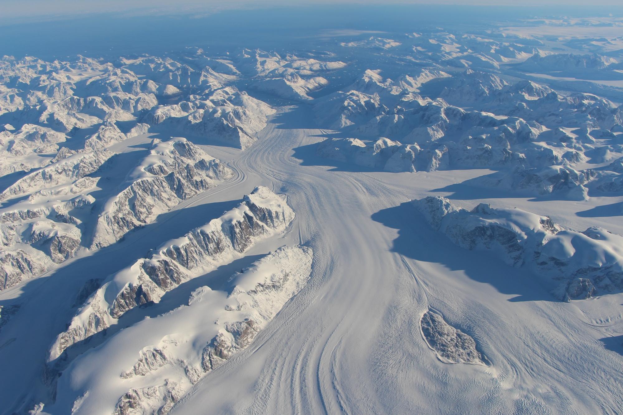 Heimdal glacier