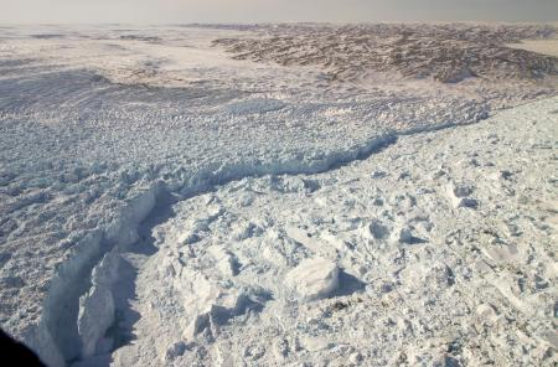 The Jakobshavn Glacier