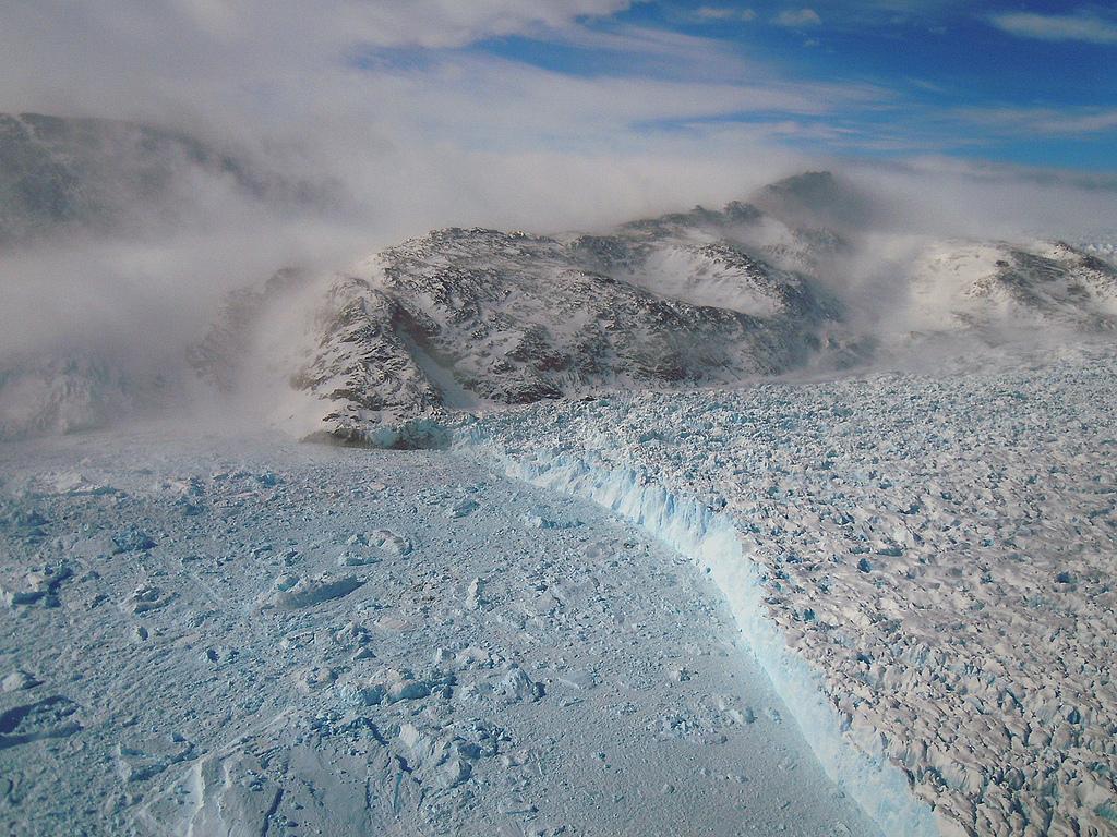 The Gyldenlove glacier