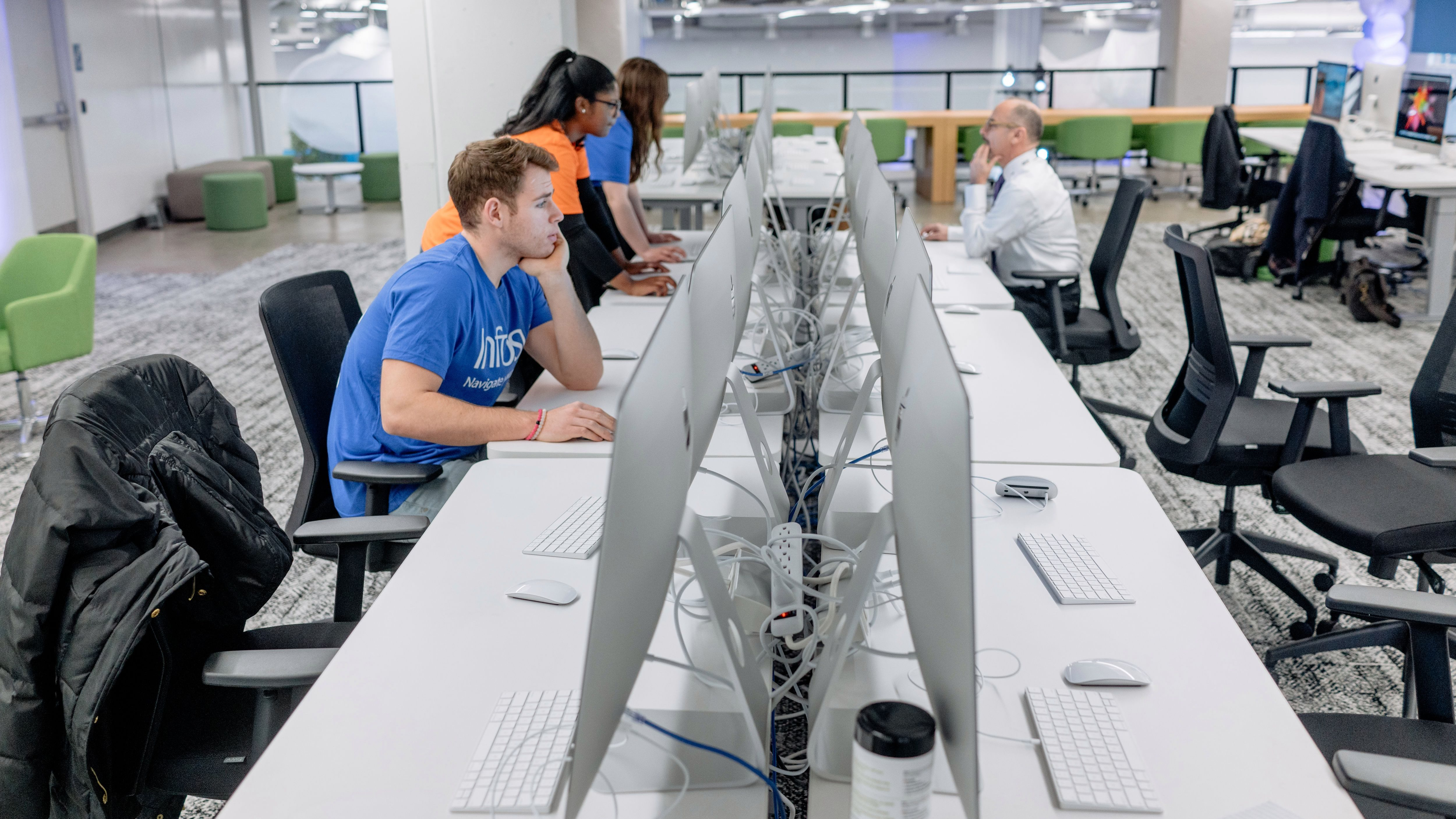 Infosys, on a 10,000-job hiring sprint in the US, is 75% of the way there