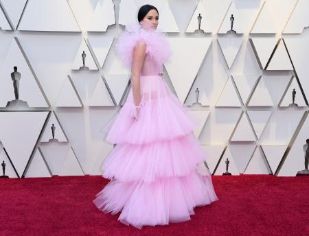 arrives at the Oscars on Sunday, Feb. 24, 2019, at the Dolby Theatre in Los Angeles. (Photo by Richard Shotwell/Invision/AP)