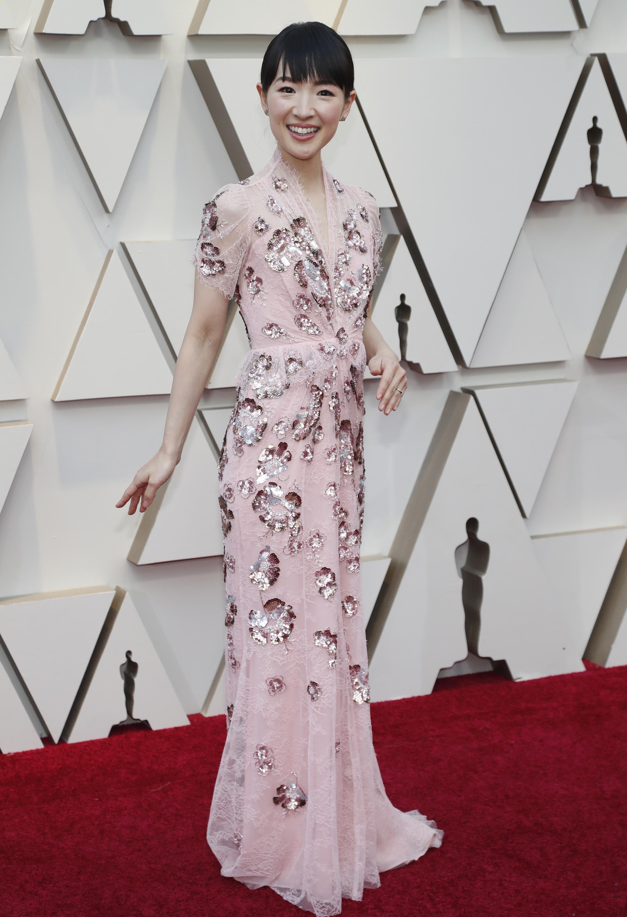 91st Academy Awards - Oscars Arrivals - Red Carpet - Hollywood, Los Angeles, California, U.S., February 24, 2019. Marie Kondo. REUTERS/Mario Anzuoni - HP1EF2O1PCT2U
