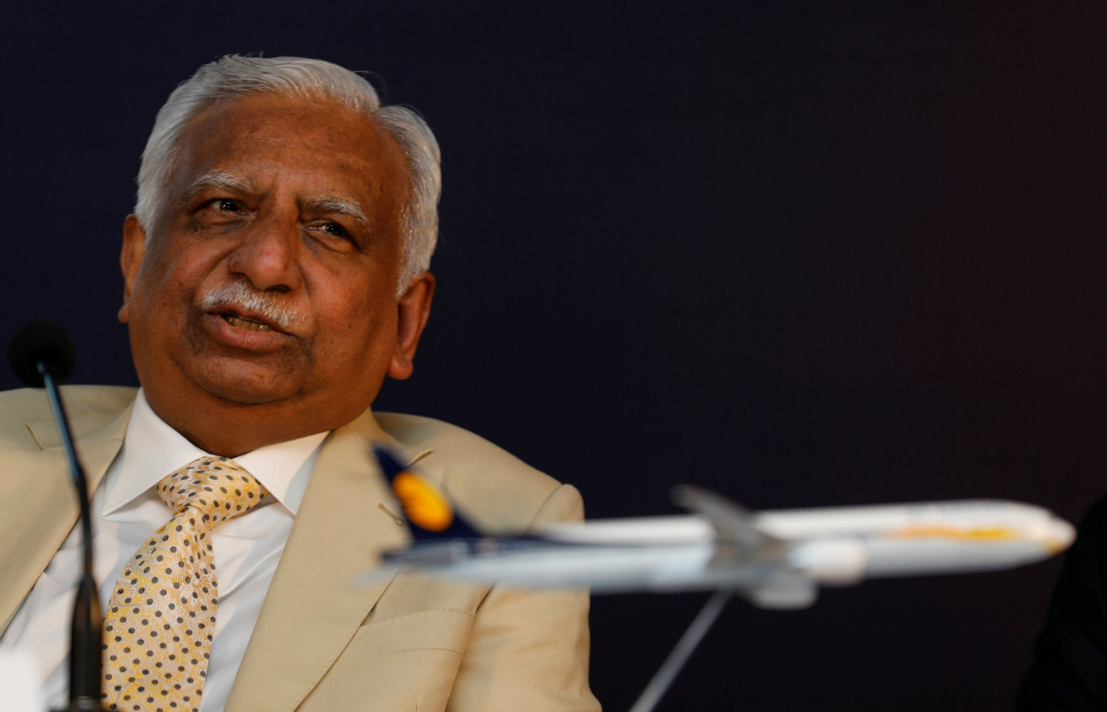 After 25 years, India's oldest private airline may slip out of its founder's hands