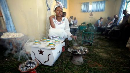 Can Ethiopia's coffee ritual be exported for commercial gain?