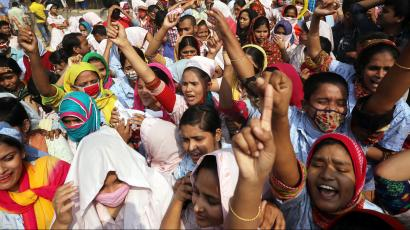 5,000 garment workers in Bangladesh were fired after