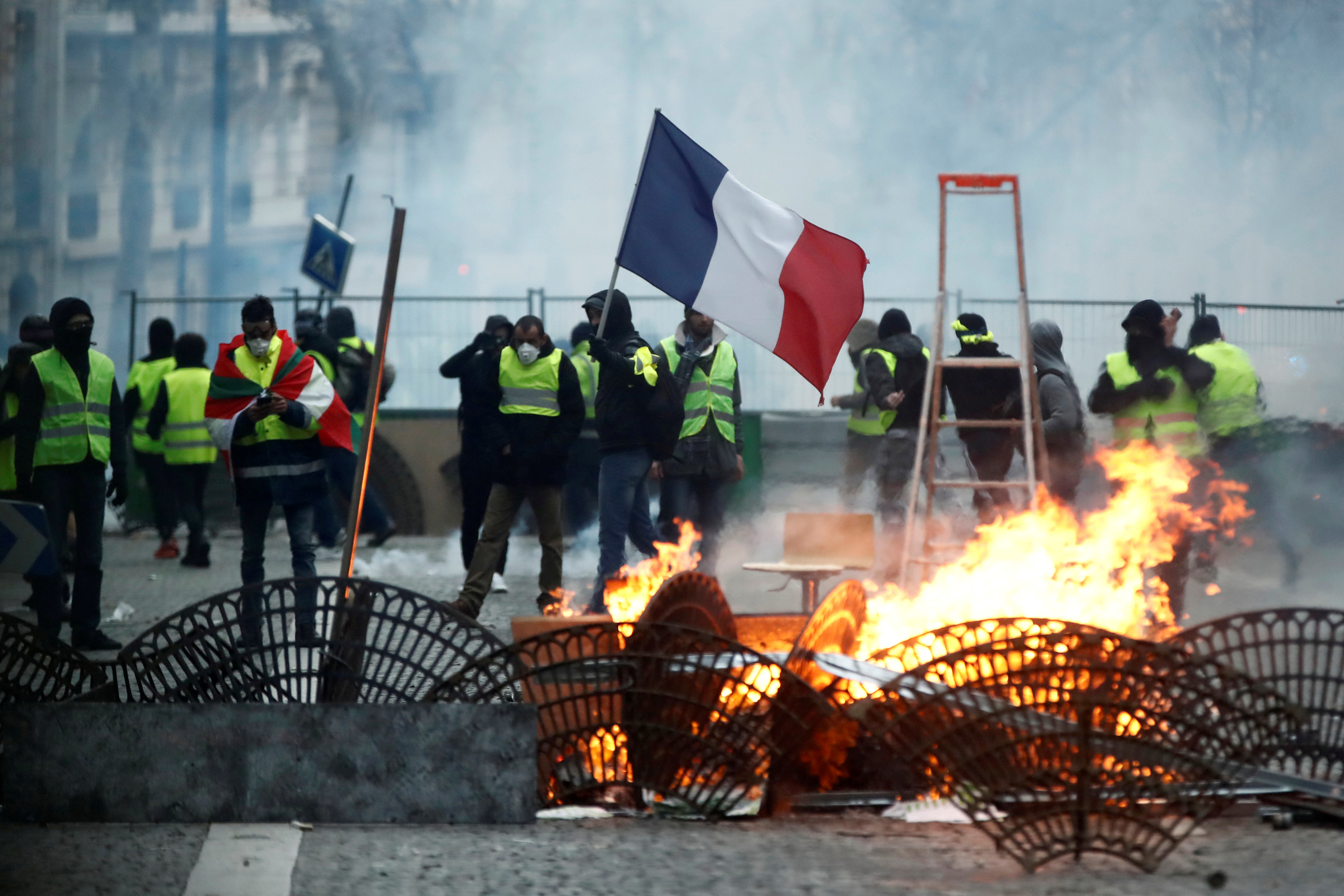 The Gilets Jaunes movement was born initially out of opposition to a tax on fuel