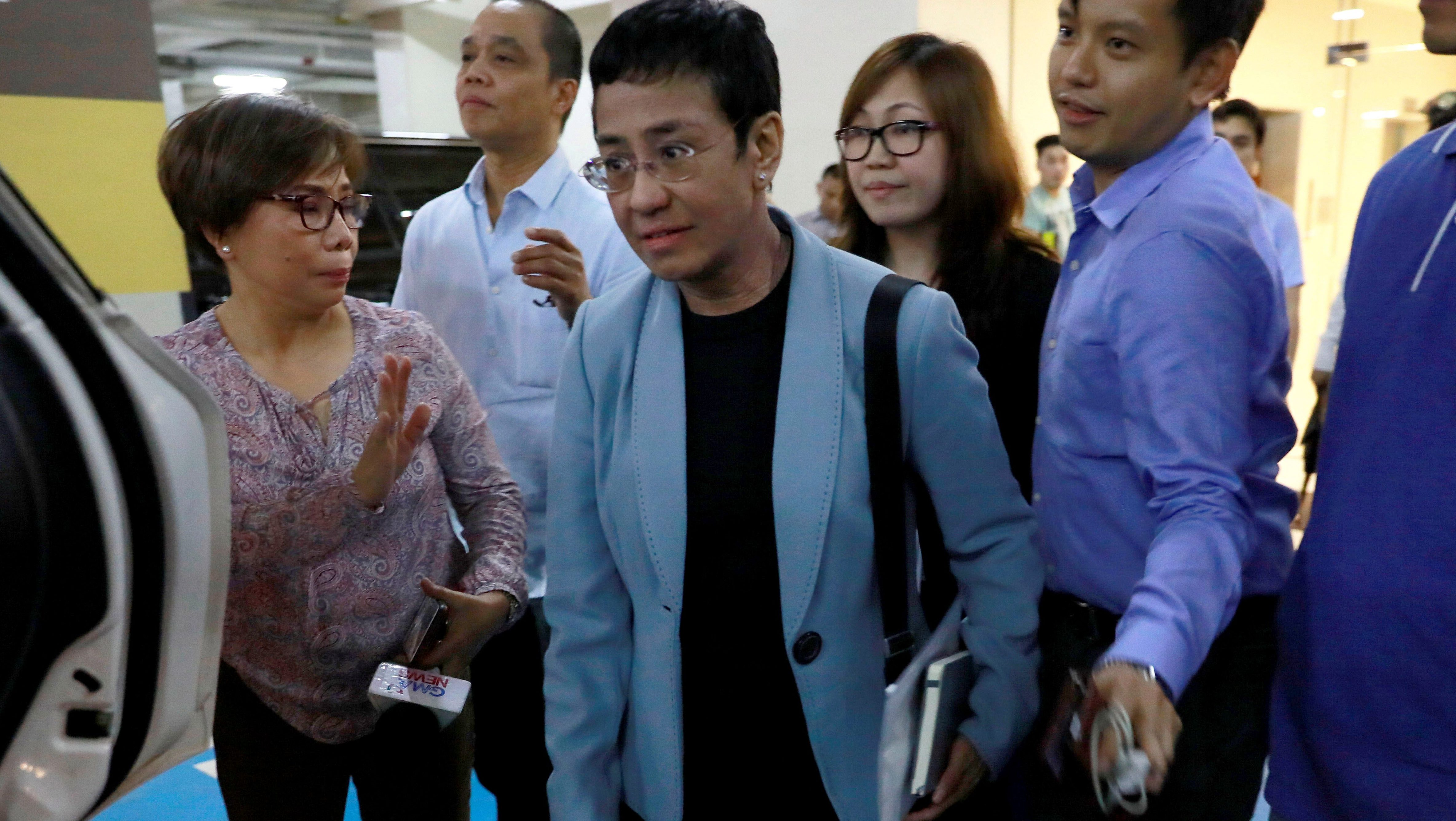 Maria Ressa's arrest is a warning to every journalist in a democracy