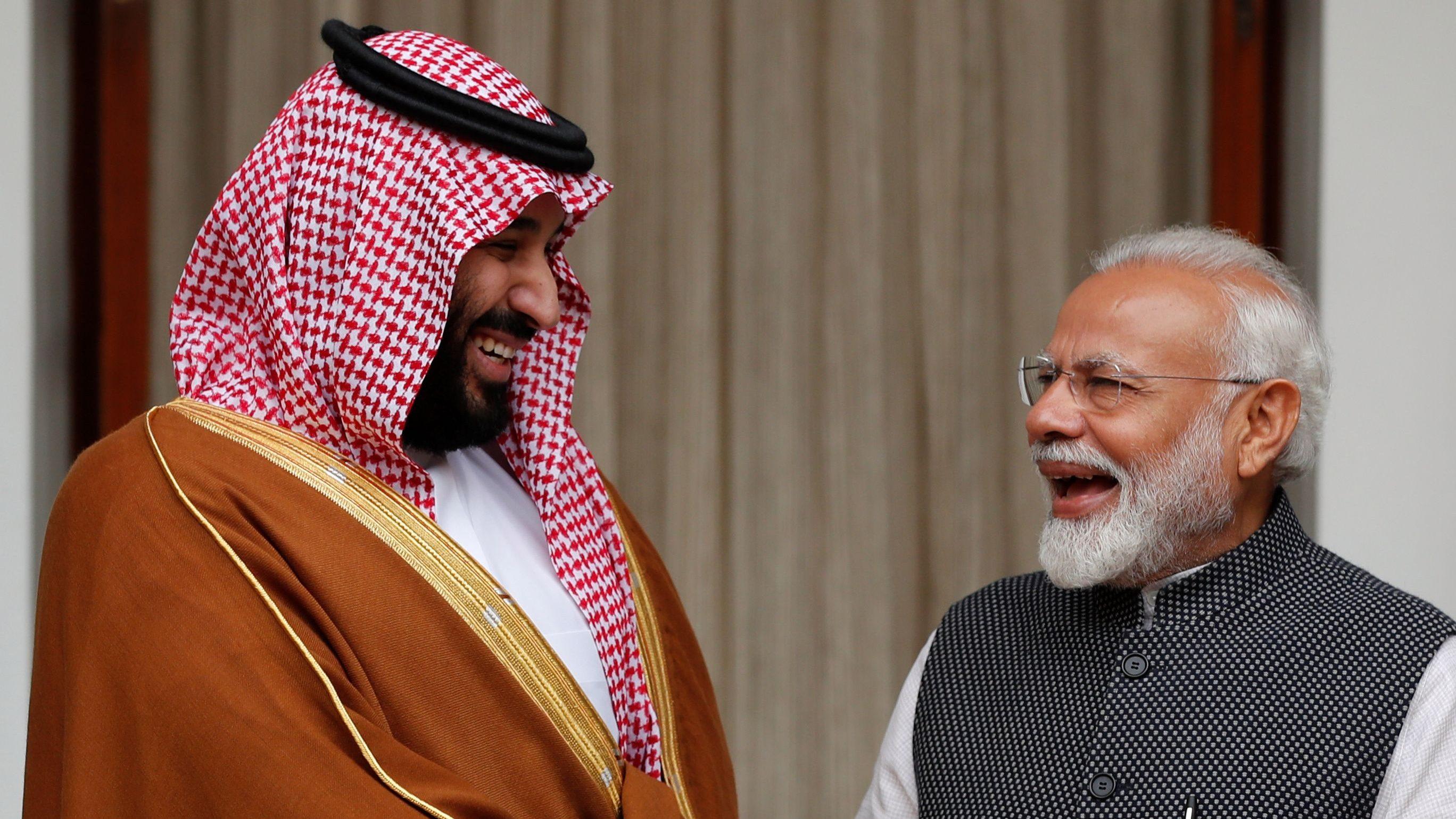 India-Saudi-Arabia-Modi-MBS-Crown-Prince