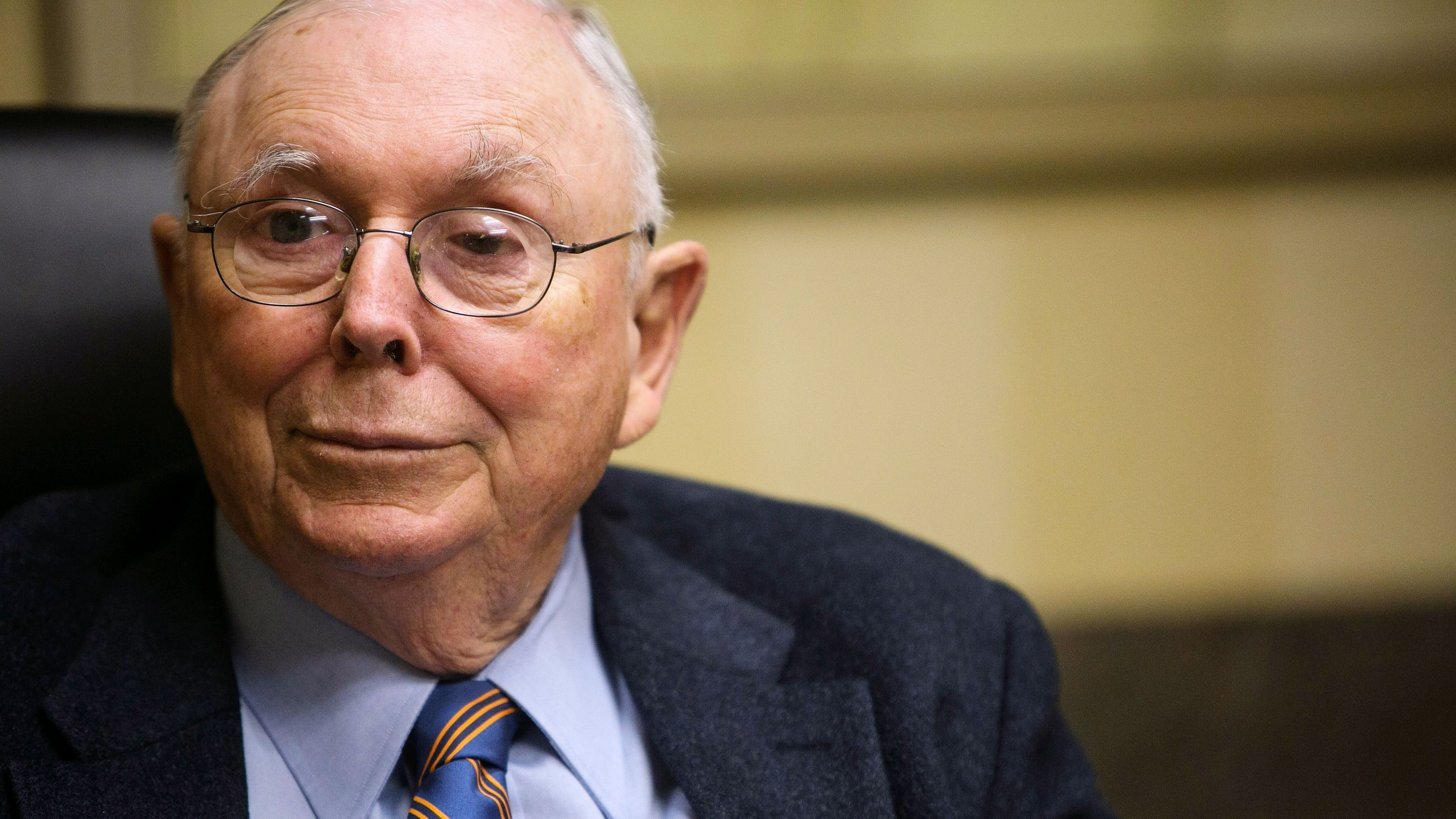 Charlie Munger offers advice on hiring—and a dig at Elon Musk