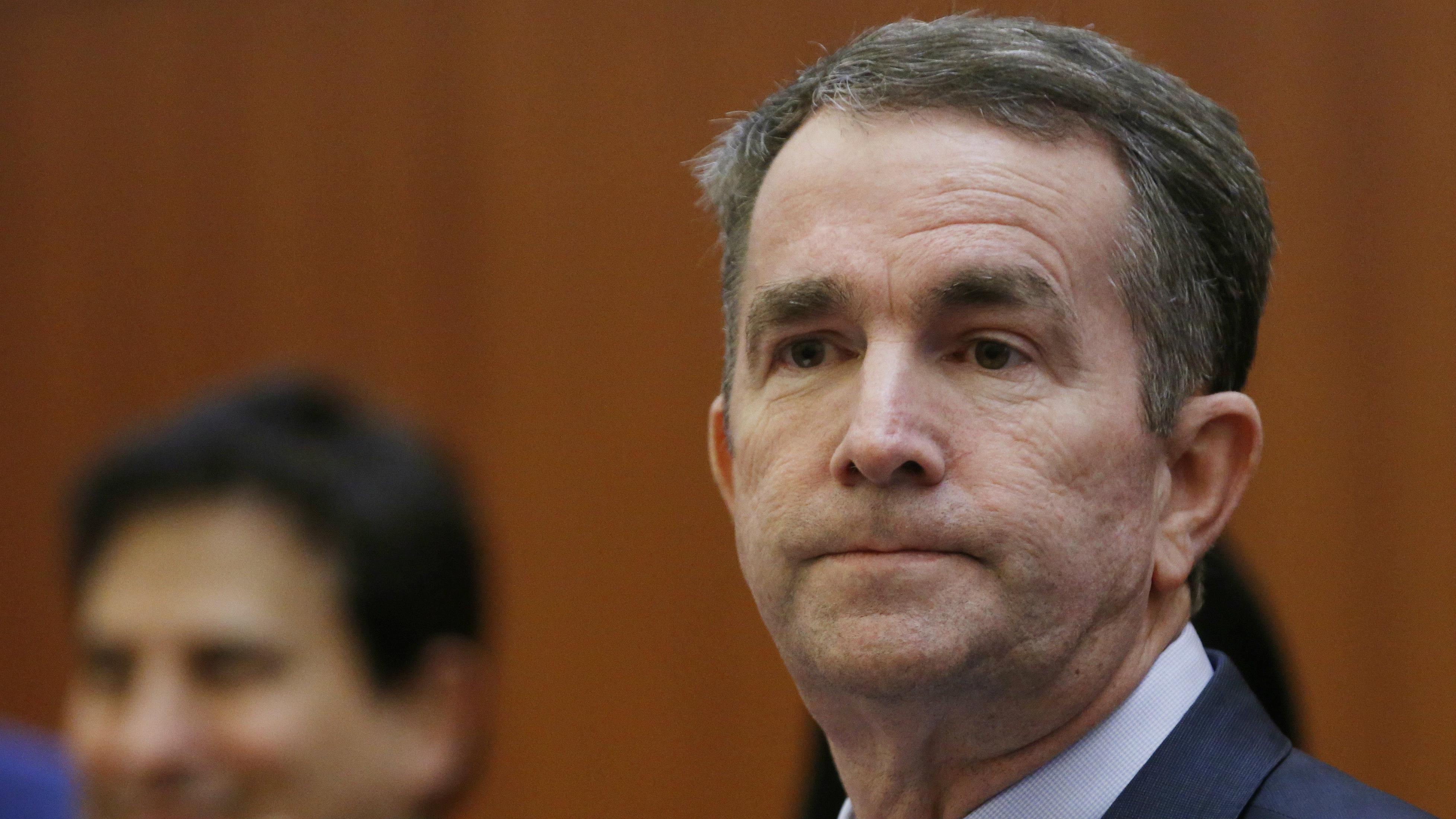 Ralph Northam faces calls to resign