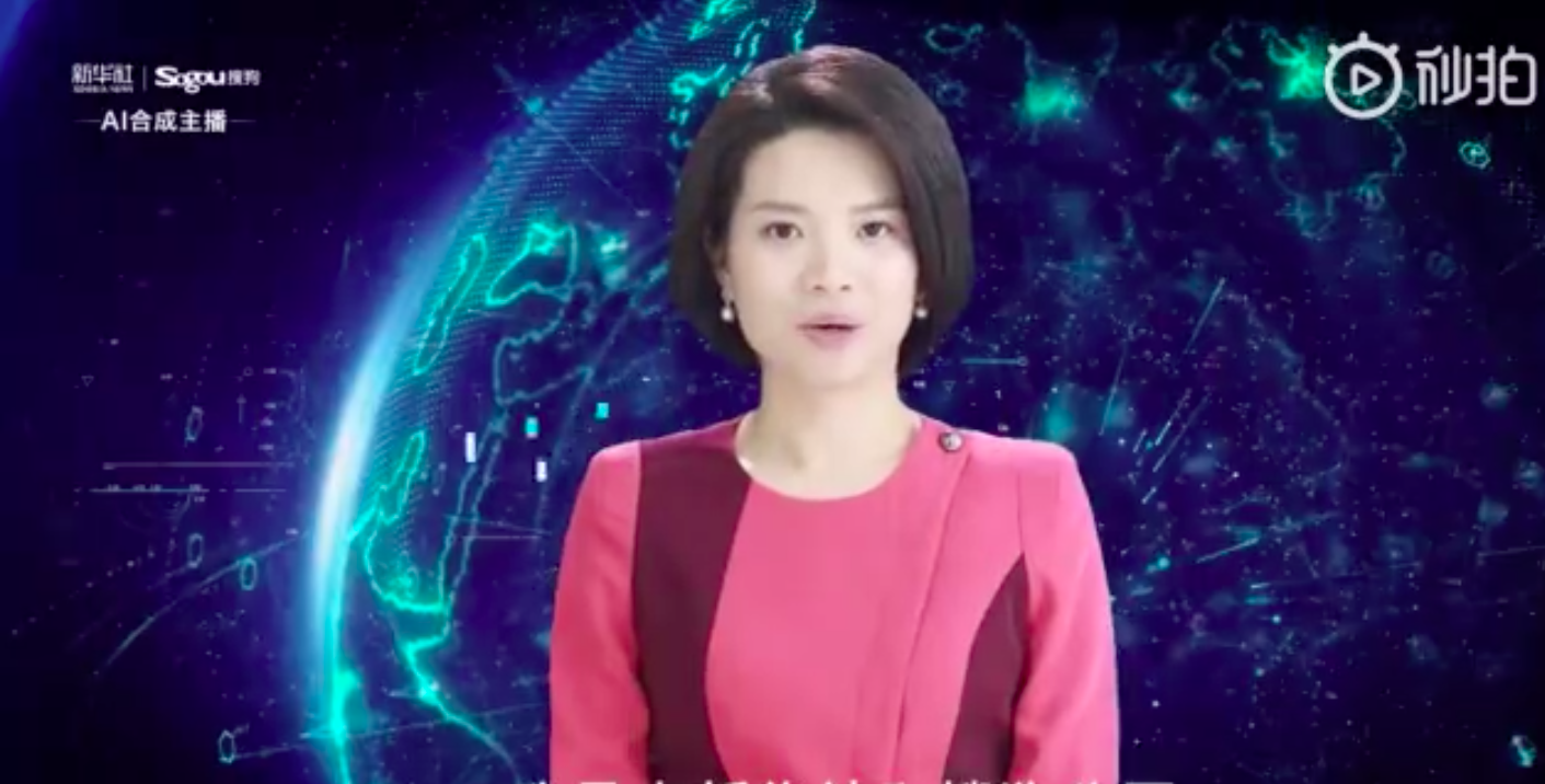 China's Xinhua launches world's first AI female news anchor — Quartz