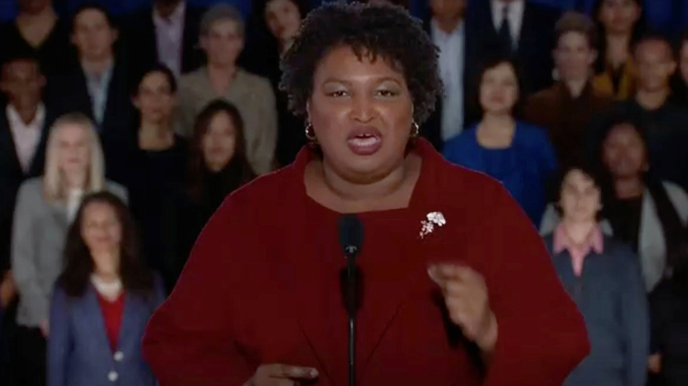 Stacey Abrams Democrat response to 2019 State of the Union