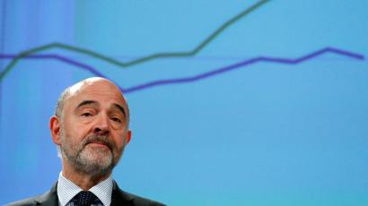 European Commissioner for Economic and Financial Affairs Pierre Moscovici.