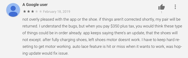 A review of the Adapt BB in Google Play