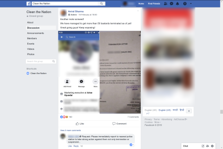 After Pulwama, a Facebook group targeted